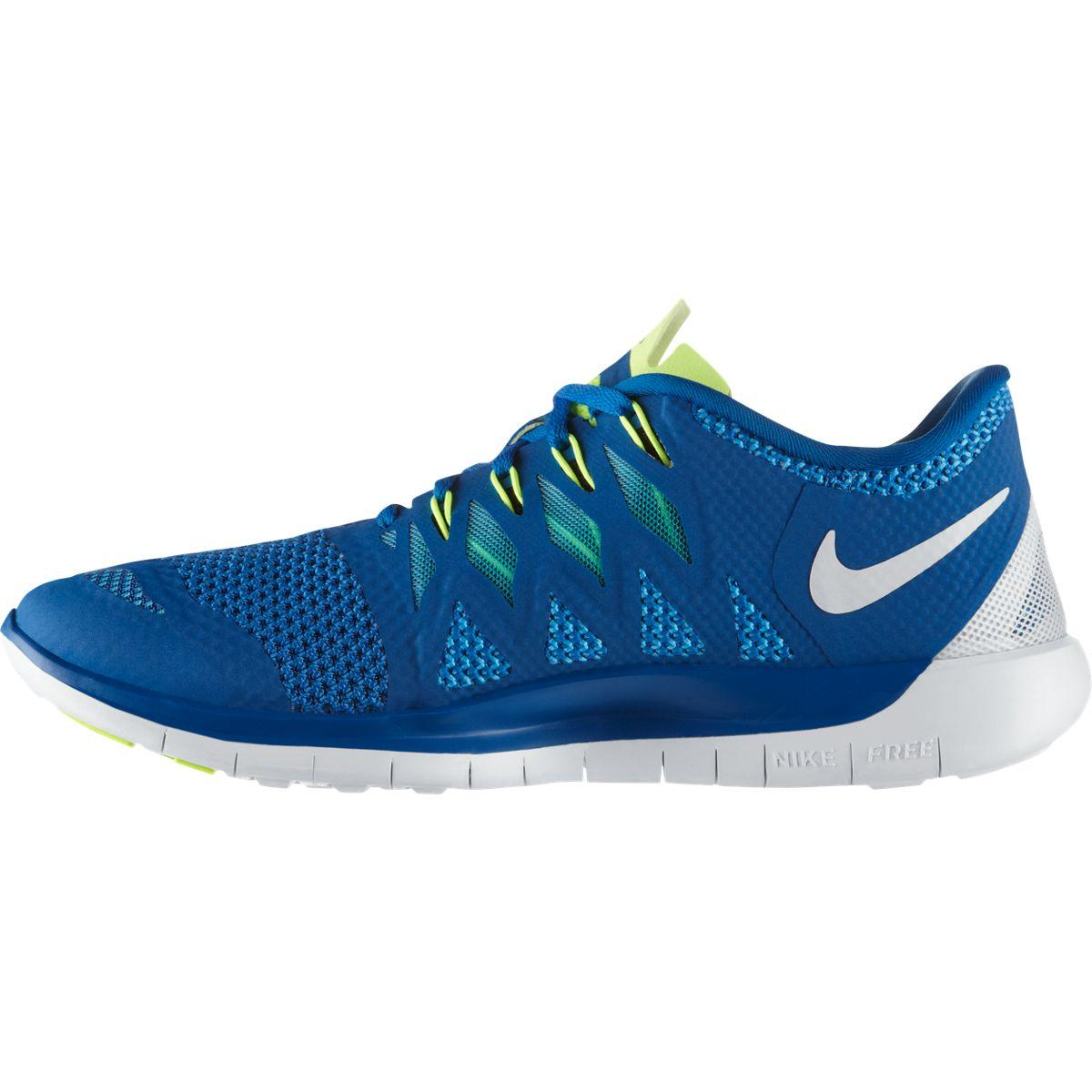 Nike Mens Free 5 0 Running Shoes Military Blue