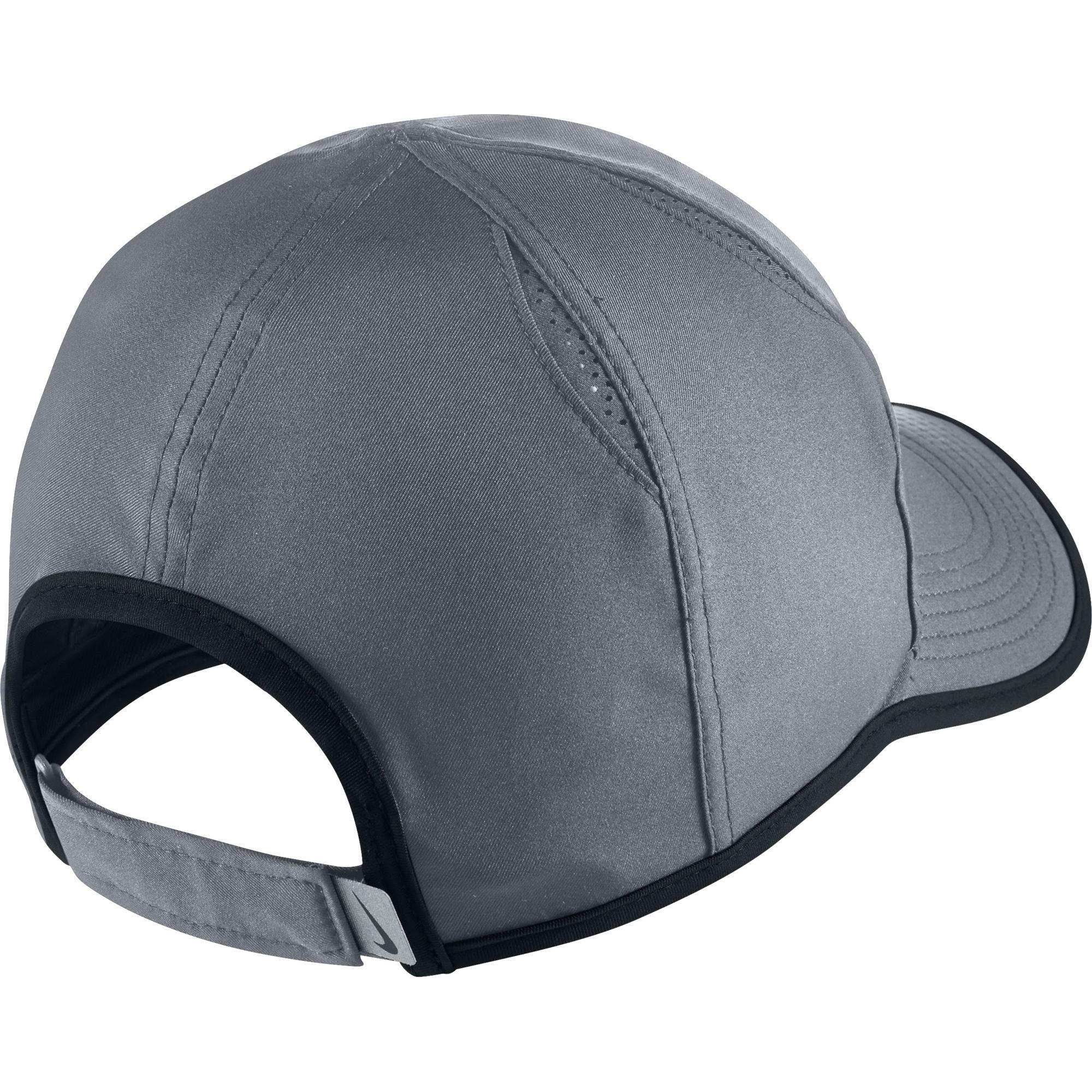 f54e9f6416267a Nike Feather Light Adjustable Cap - Cool Grey - Tennisnuts.com