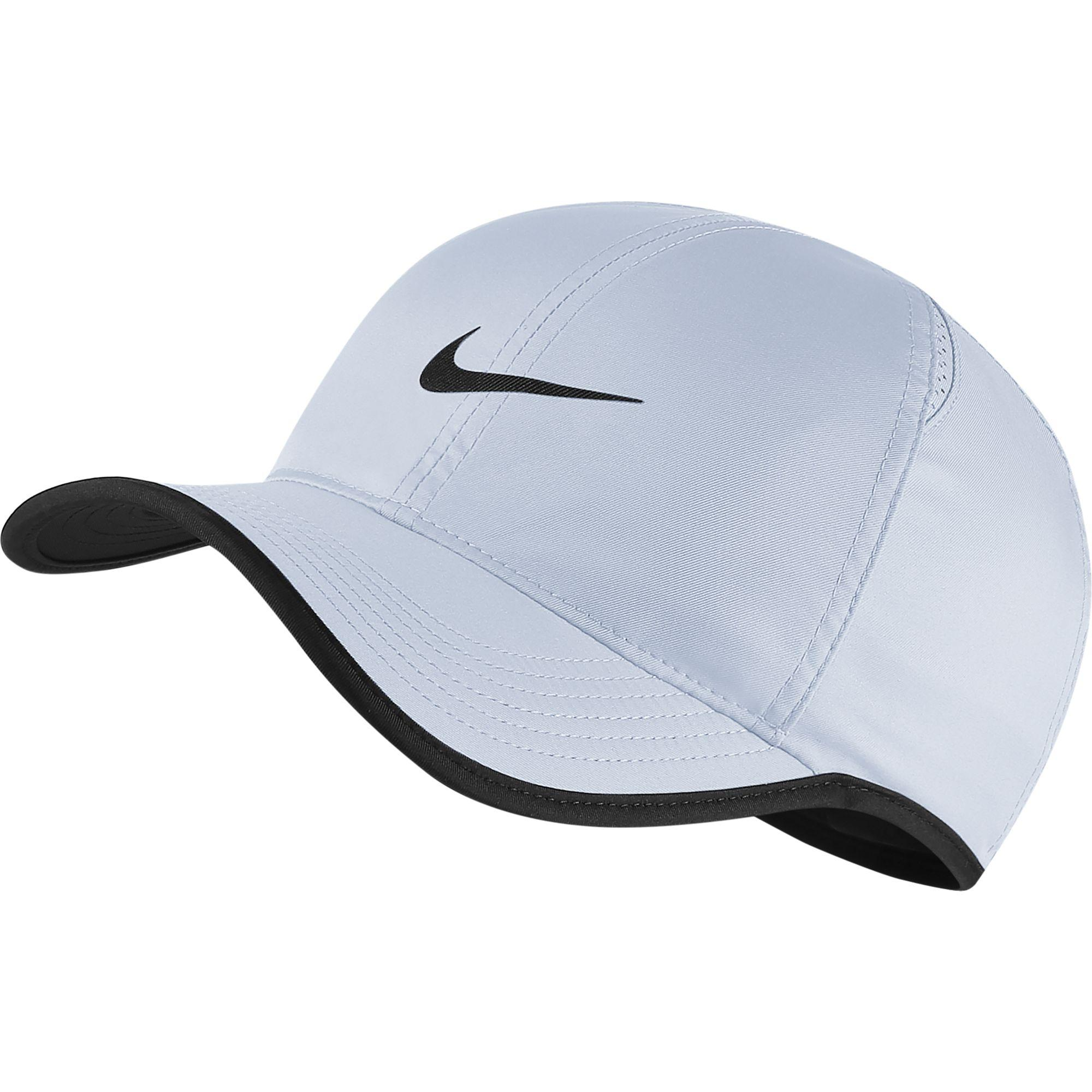 Nike Featherlight Adjustable Cap - Half Blue Black - Tennisnuts.com b20b8079447