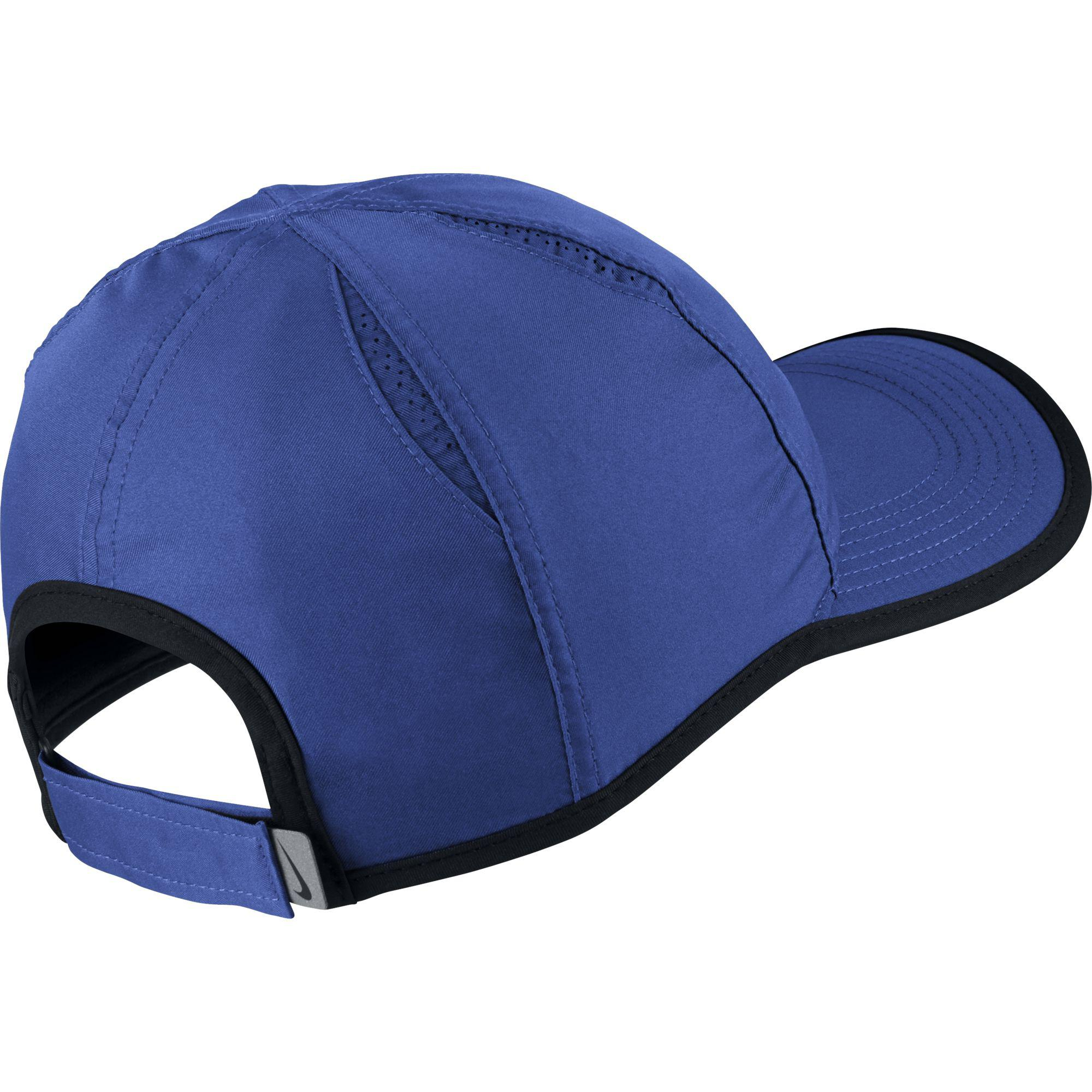 sale retailer bc97f 785d7 Nike Featherlight Adjustable Cap - Game Royal