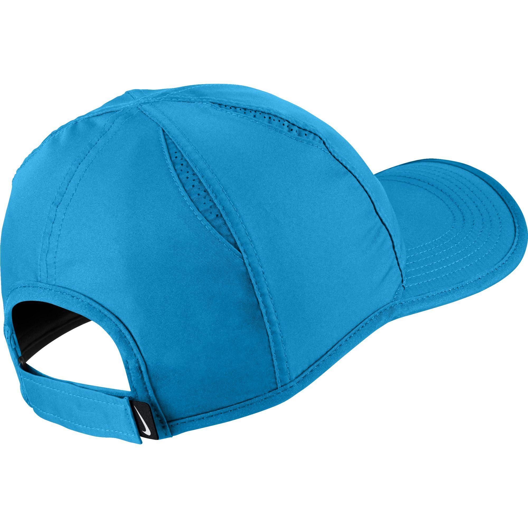 db0cda310d1 Nike Featherlight Adjustable Cap - Equator Blue - Tennisnuts.com