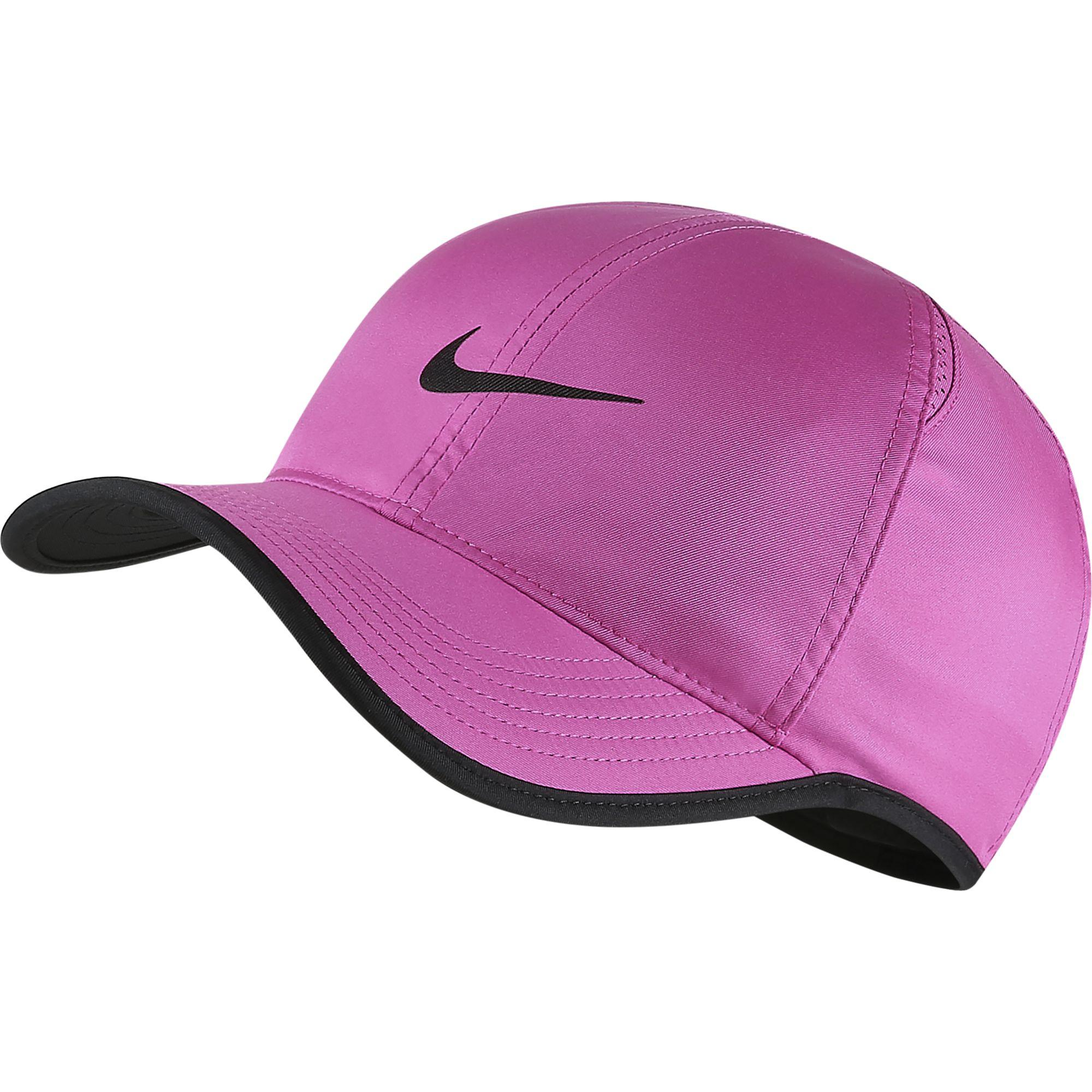 Nike Featherlight Adjustable Cap - Active Fuchsia Black - Tennisnuts.com efaf9cd54b8
