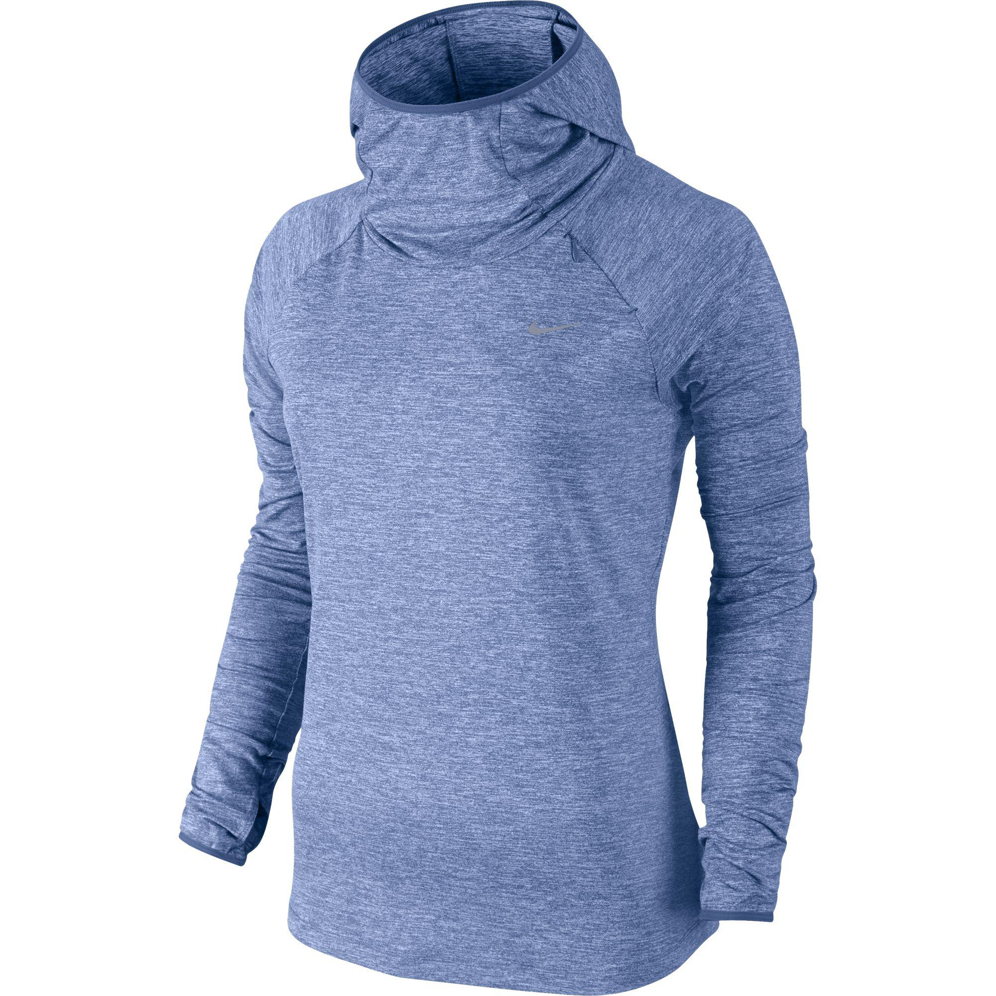 a240511bc9ff6 Nike Womens Dry Element Hoodie - Chalk Blue - Tennisnuts.com