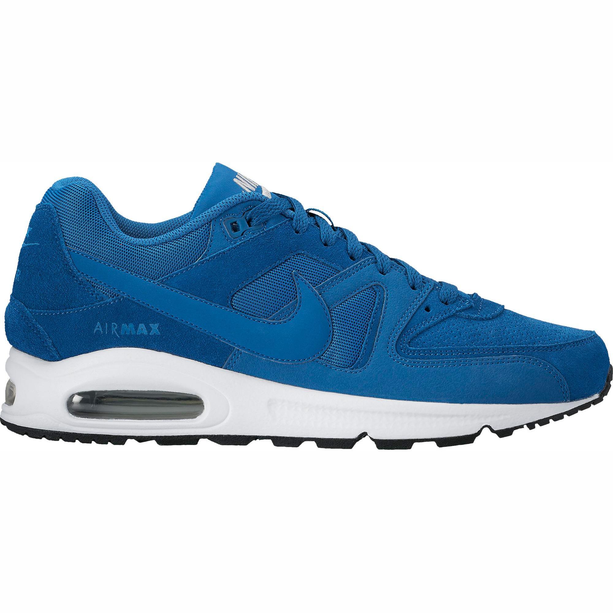 96869320e2 Nike Mens Air Max Command Running Shoes - Industrial Blue - Tennisnuts.com