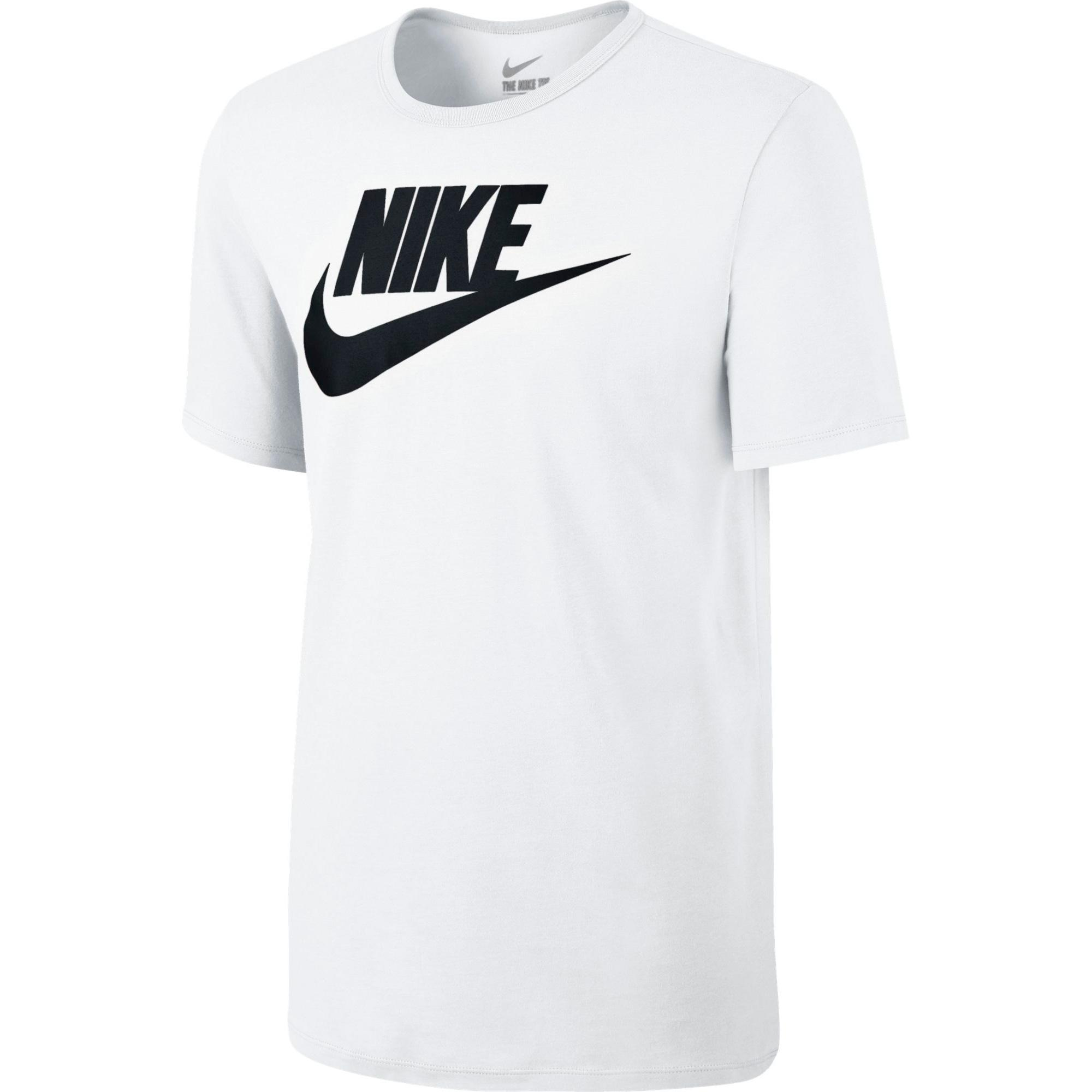 nike mens futura icon t shirt white black. Black Bedroom Furniture Sets. Home Design Ideas