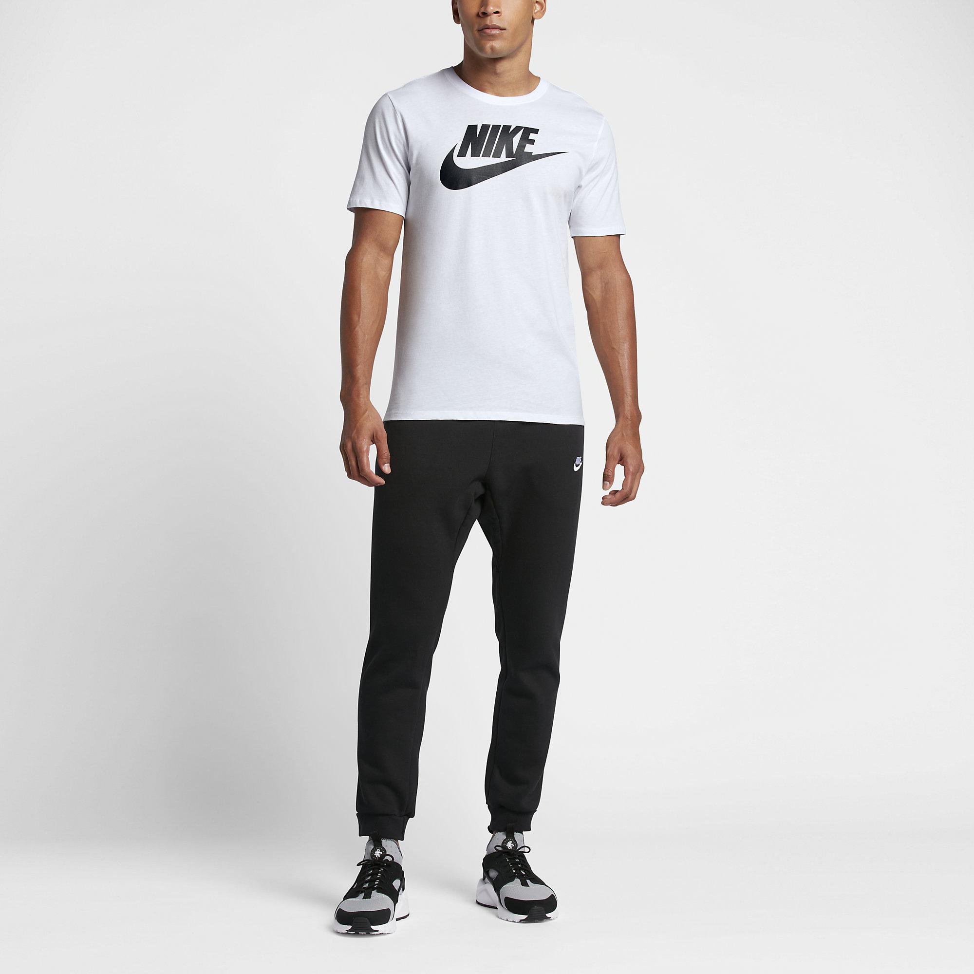 Nike Sportswear Futura Icon Herren T Shirt whiteblack 696707 104