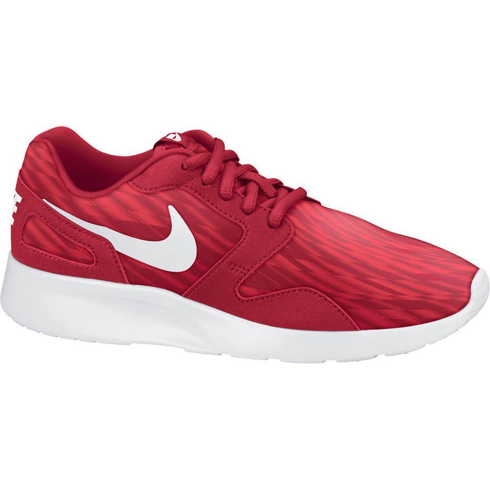 Nike Mens Kaishi Print Running Shoes - Gym Red/Daring Red