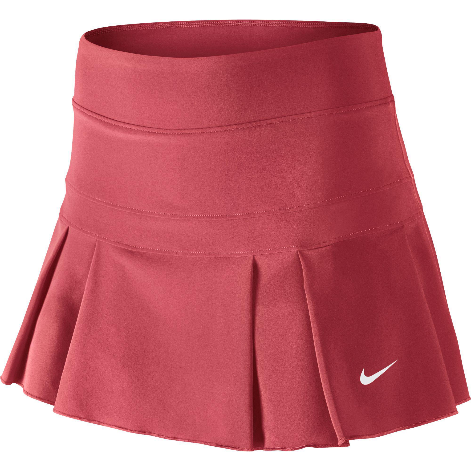 nike victory tennis skirt ember glow tennisnuts
