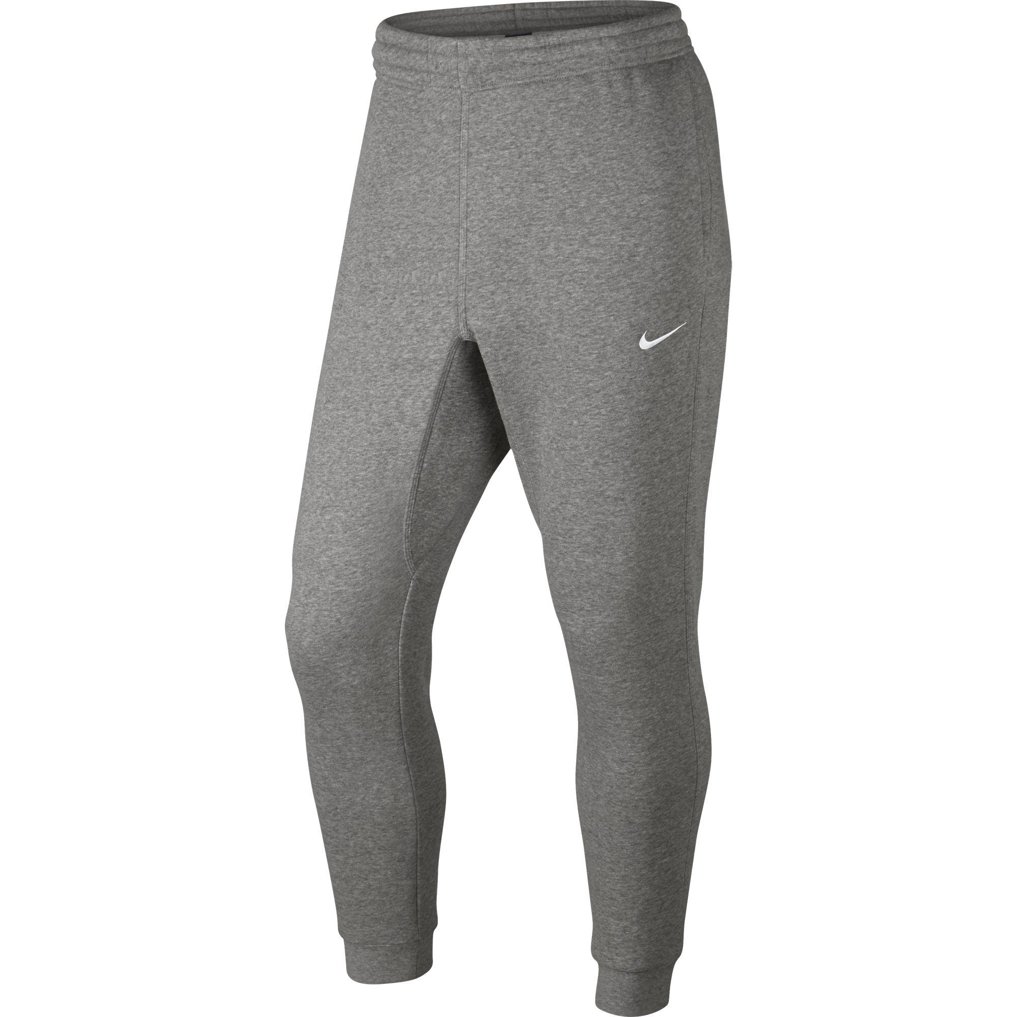 Nike Mens Club Fleece Tapered Pants - Dark Grey Heather