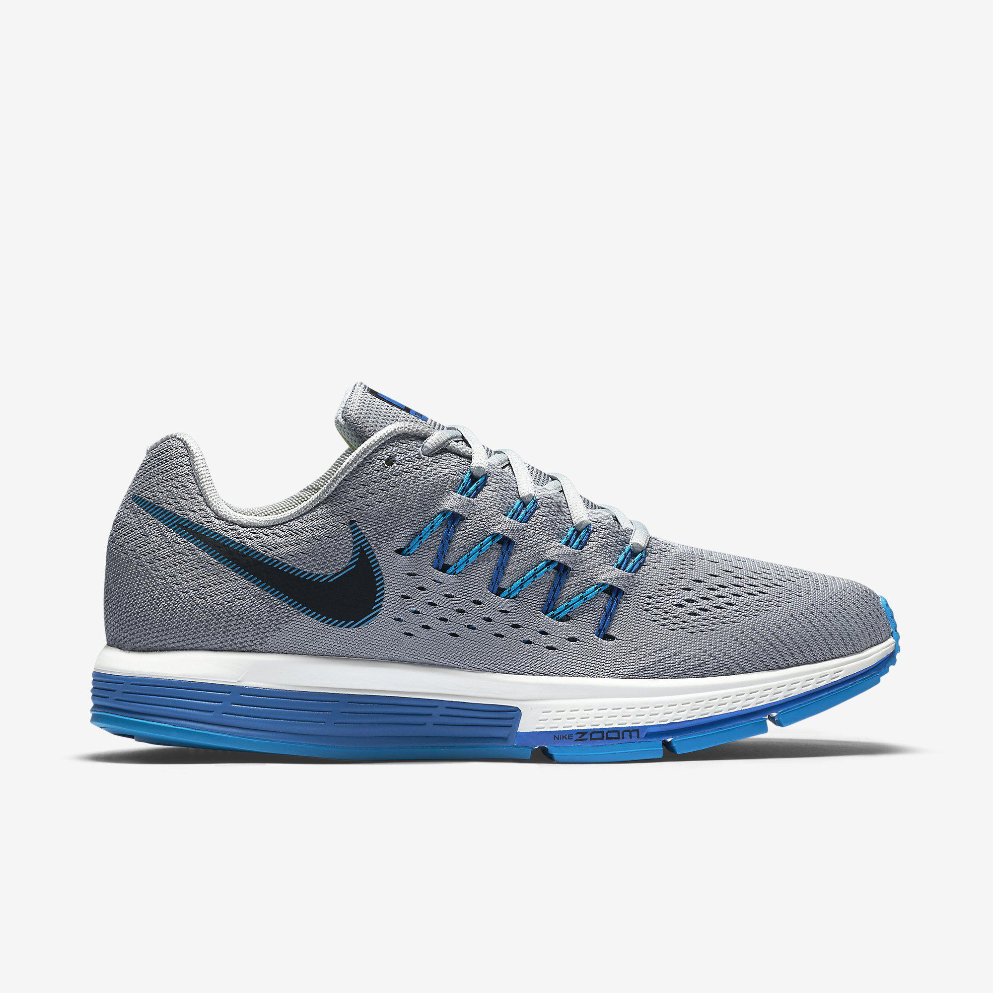 Nike Mens Air Zoom Vomero 10 Running Shoes - Wolf Grey