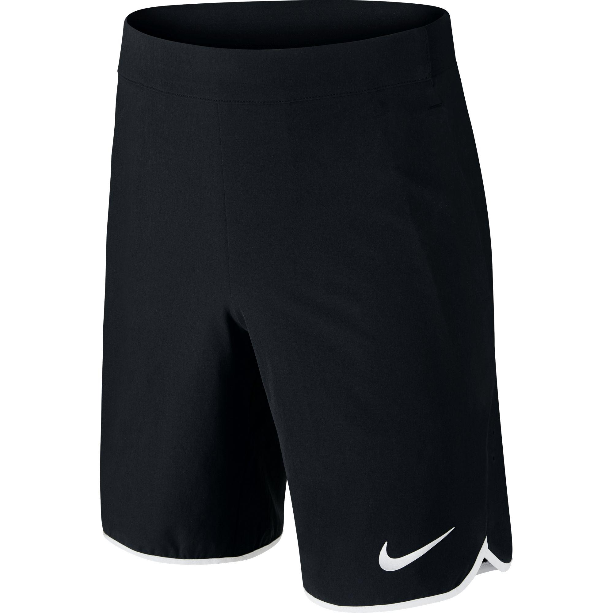 Nike Boys Gladiator Shorts - Black/White - Tennisnuts.com