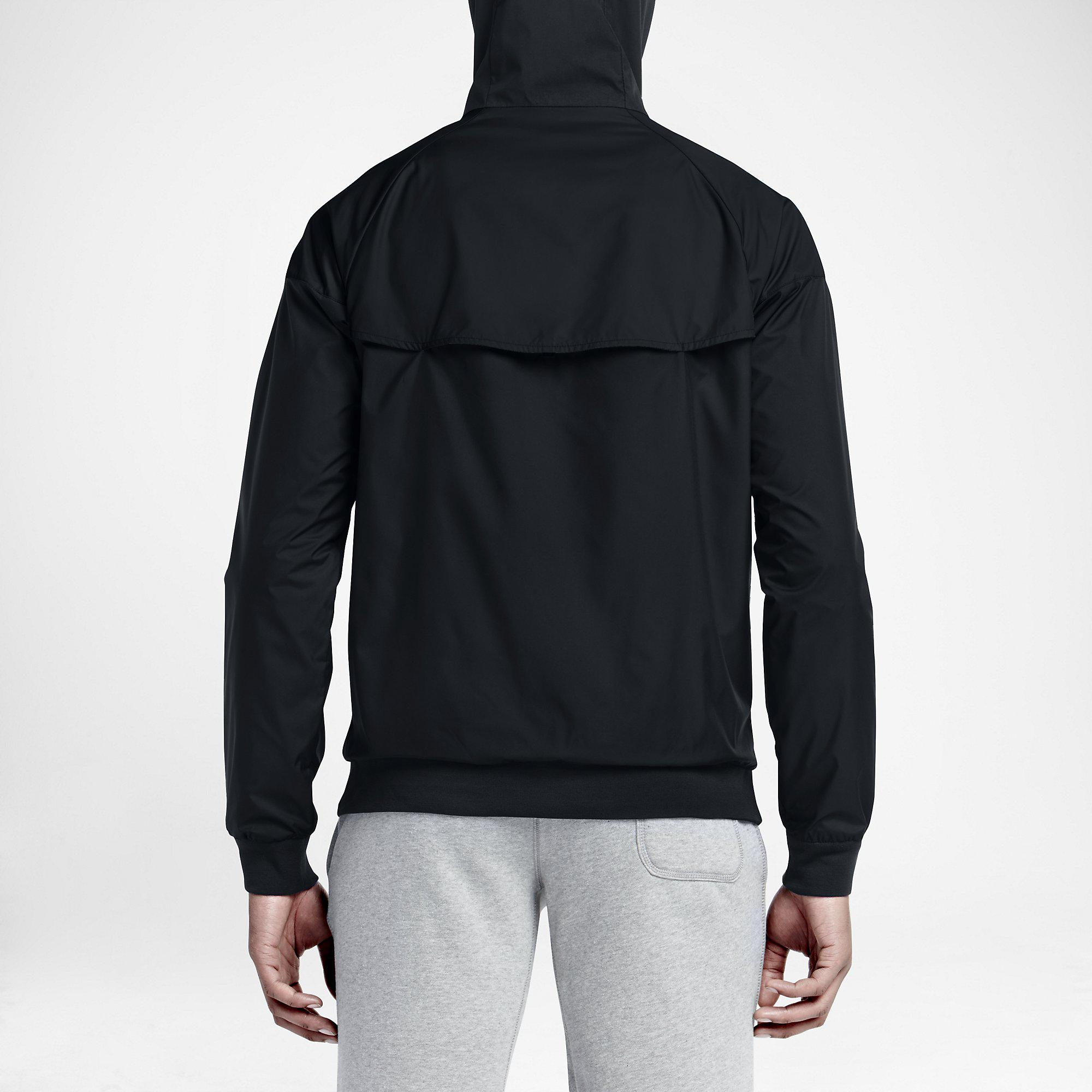 check out 4fb6f 1e855 Nike Mens Sportswear Windrunner Jacket - Black