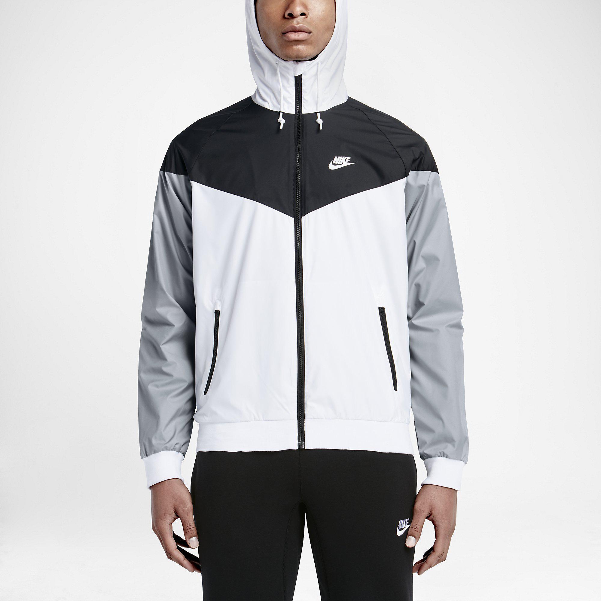 Gray Black White And Gold Bedroom: Nike Mens Sportswear Windrunner Jacket