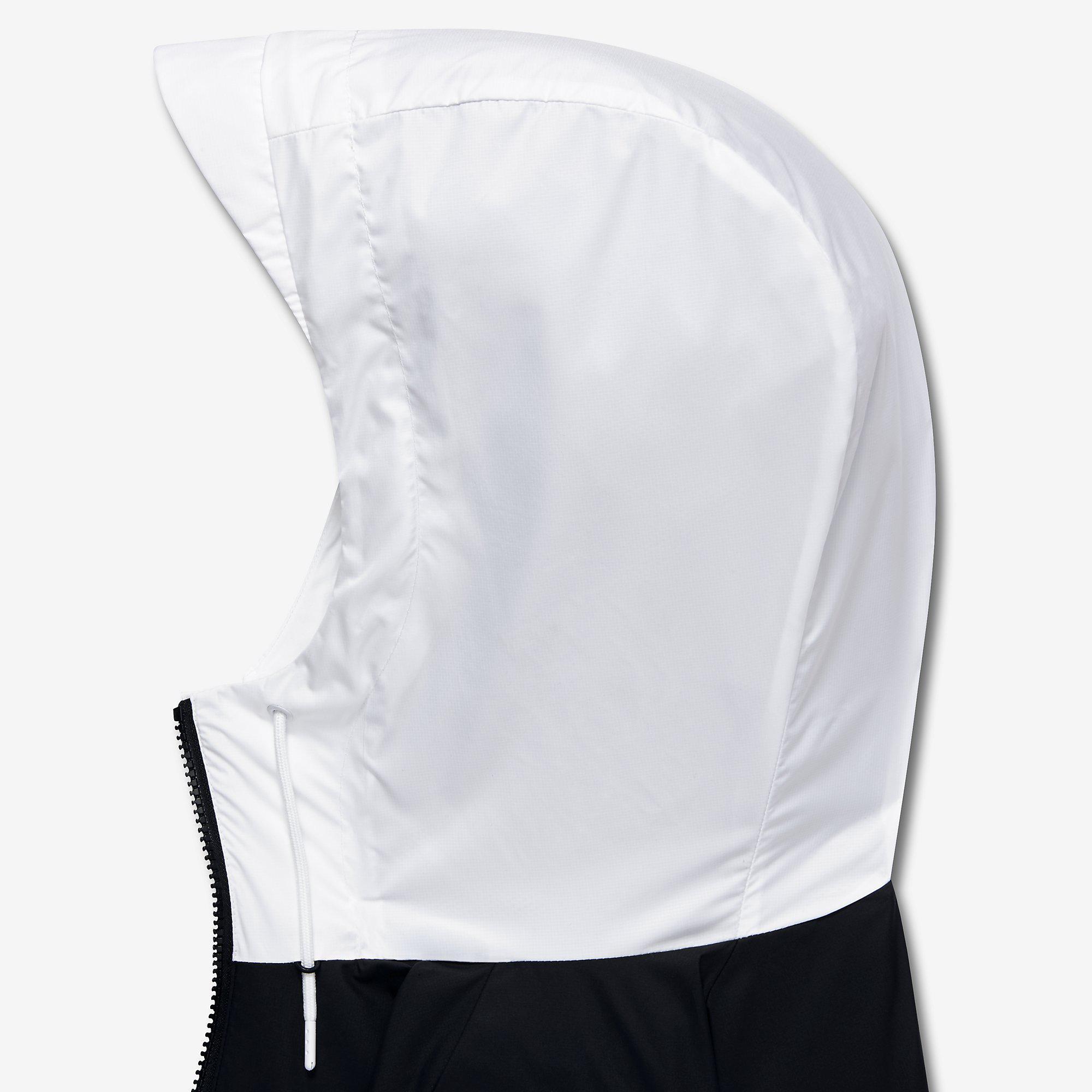 e431c161af372 Nike Mens Sportswear Windrunner Jacket - White/Black/Grey ...