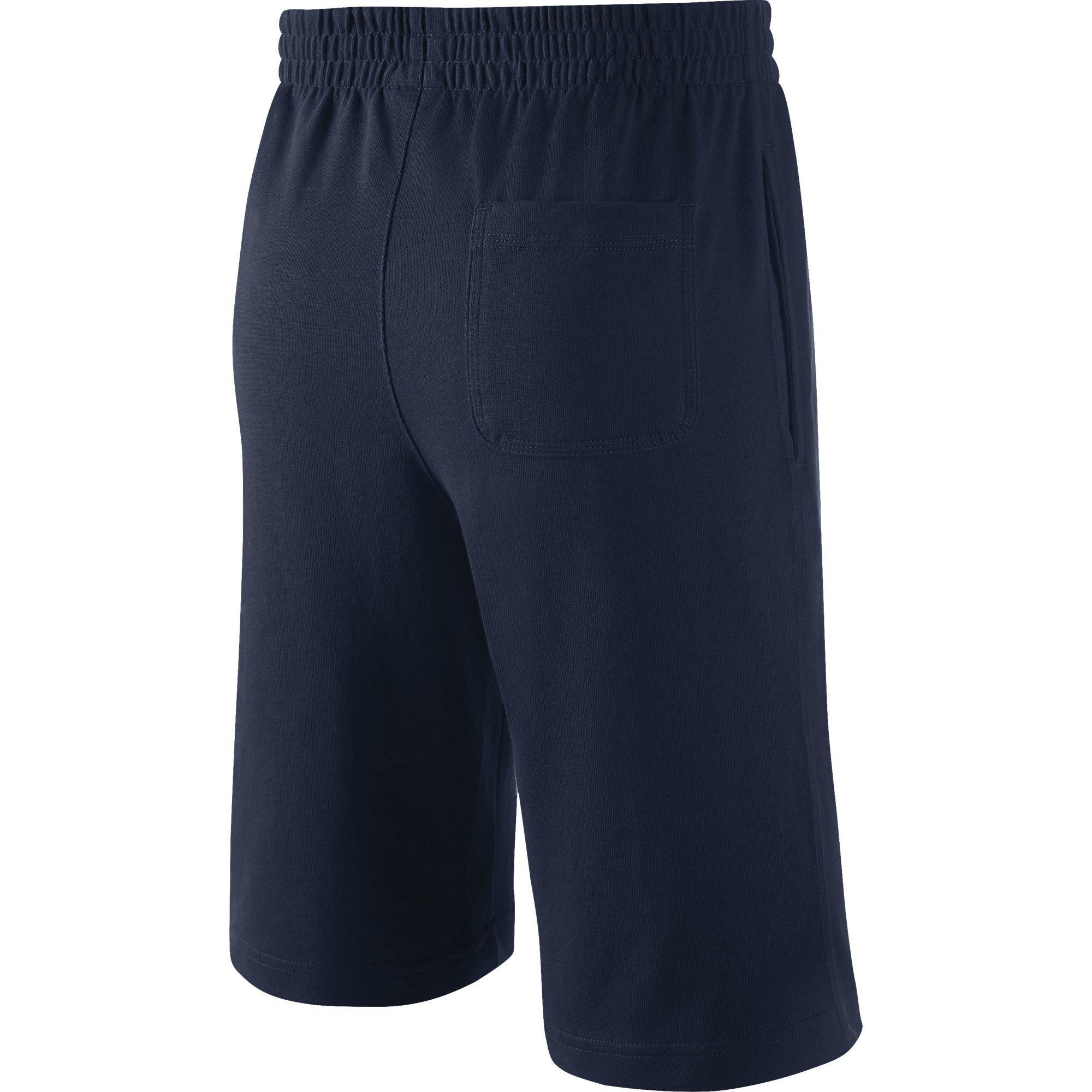 69ba0062b6 Nike Boys N45 Jersey Shorts - Blue - Tennisnuts.com