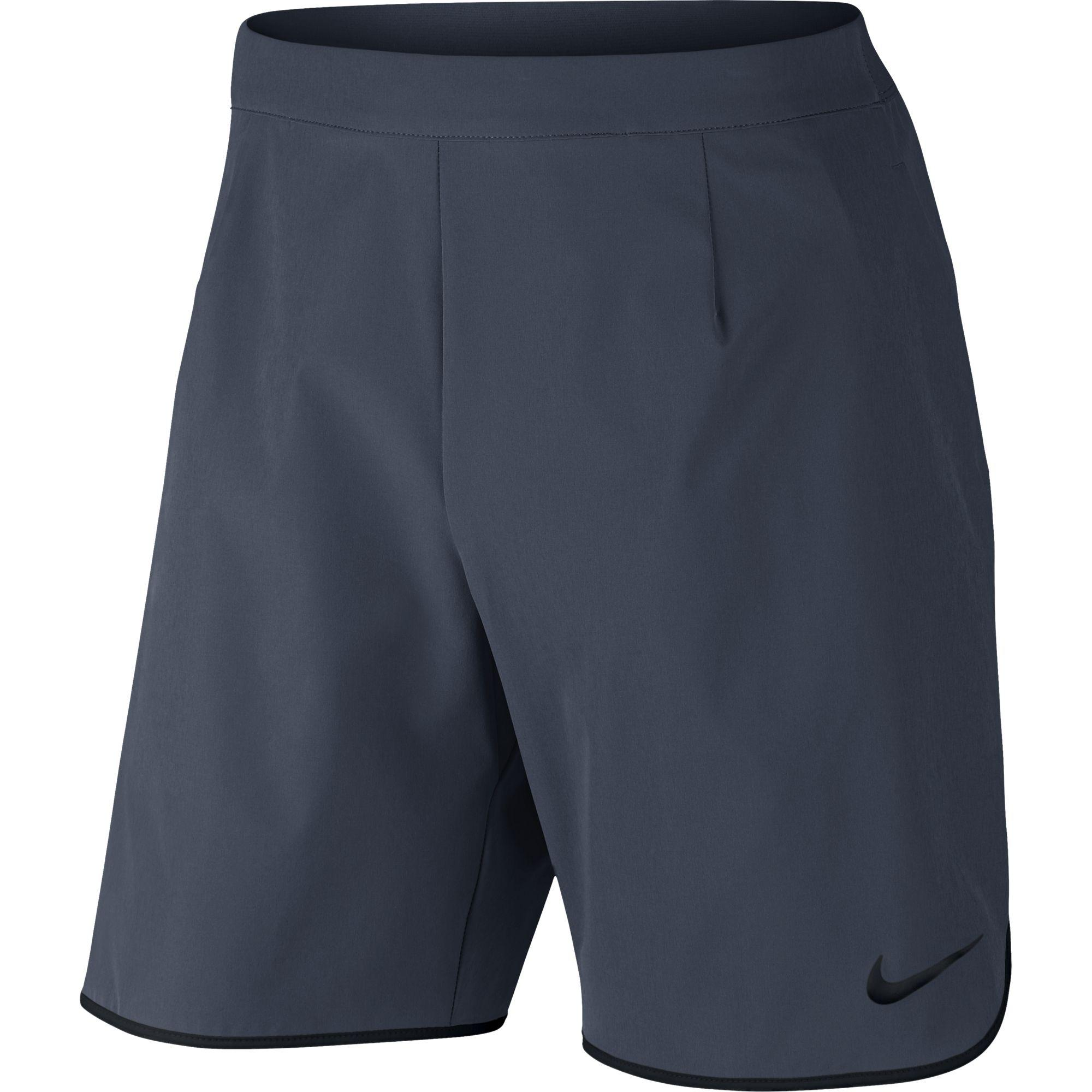 Nike Mens NikeCourt Flex Shorts - Thunder Blue