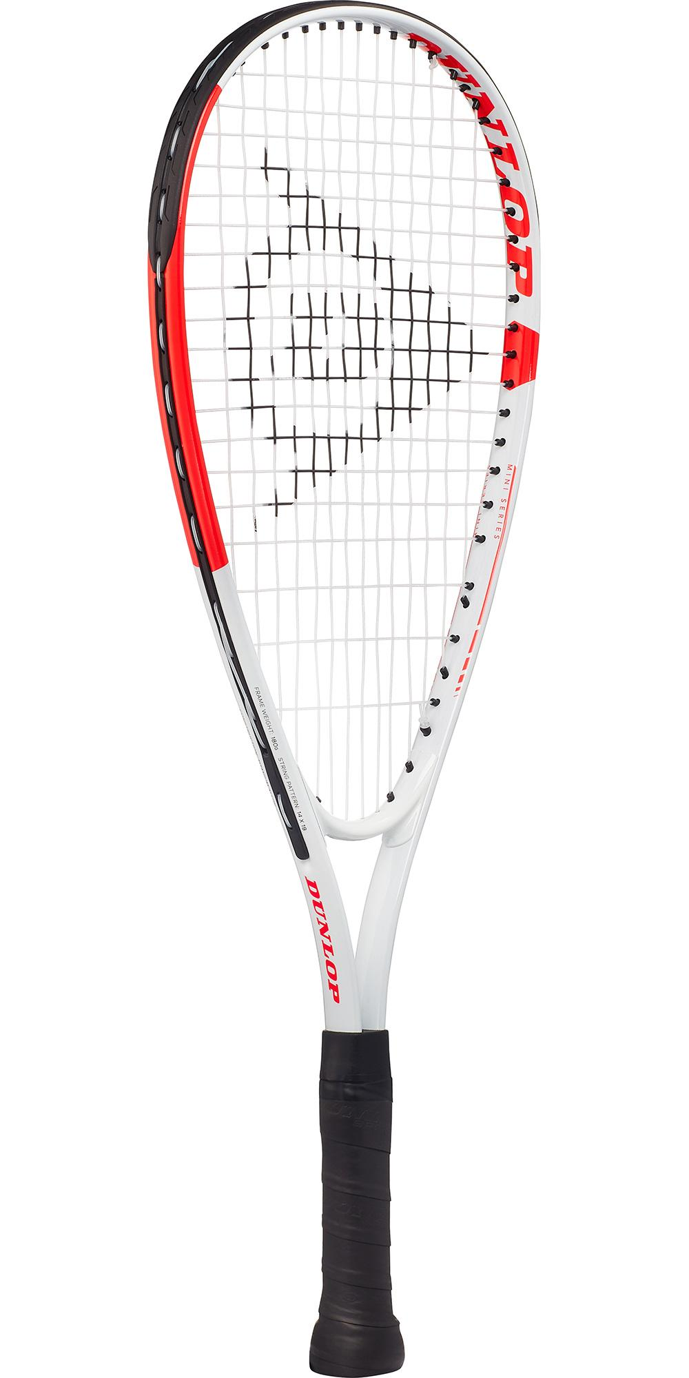 DUNLOP Fun Mini Squash Racket-Red//White