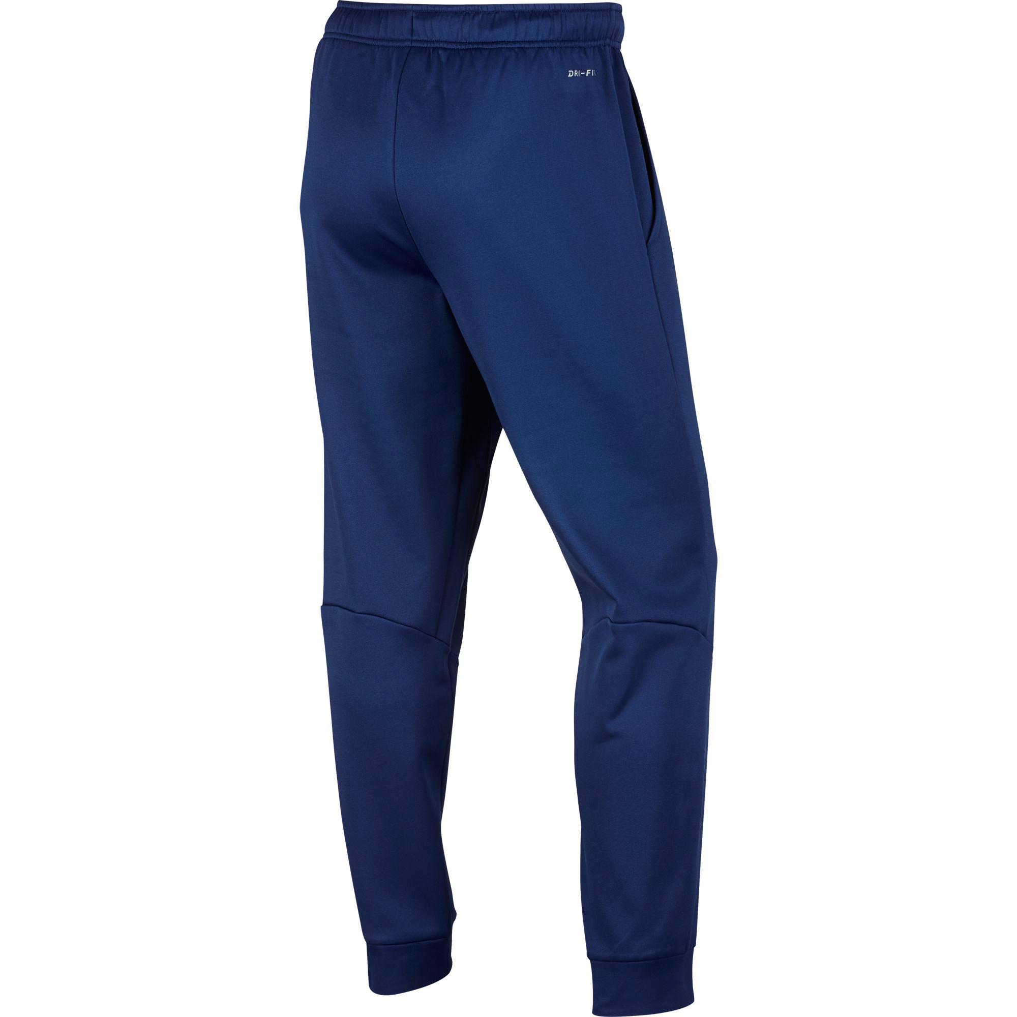 25f0b9779905 Nike Mens Therma Training Pants - Blue - Tennisnuts.com