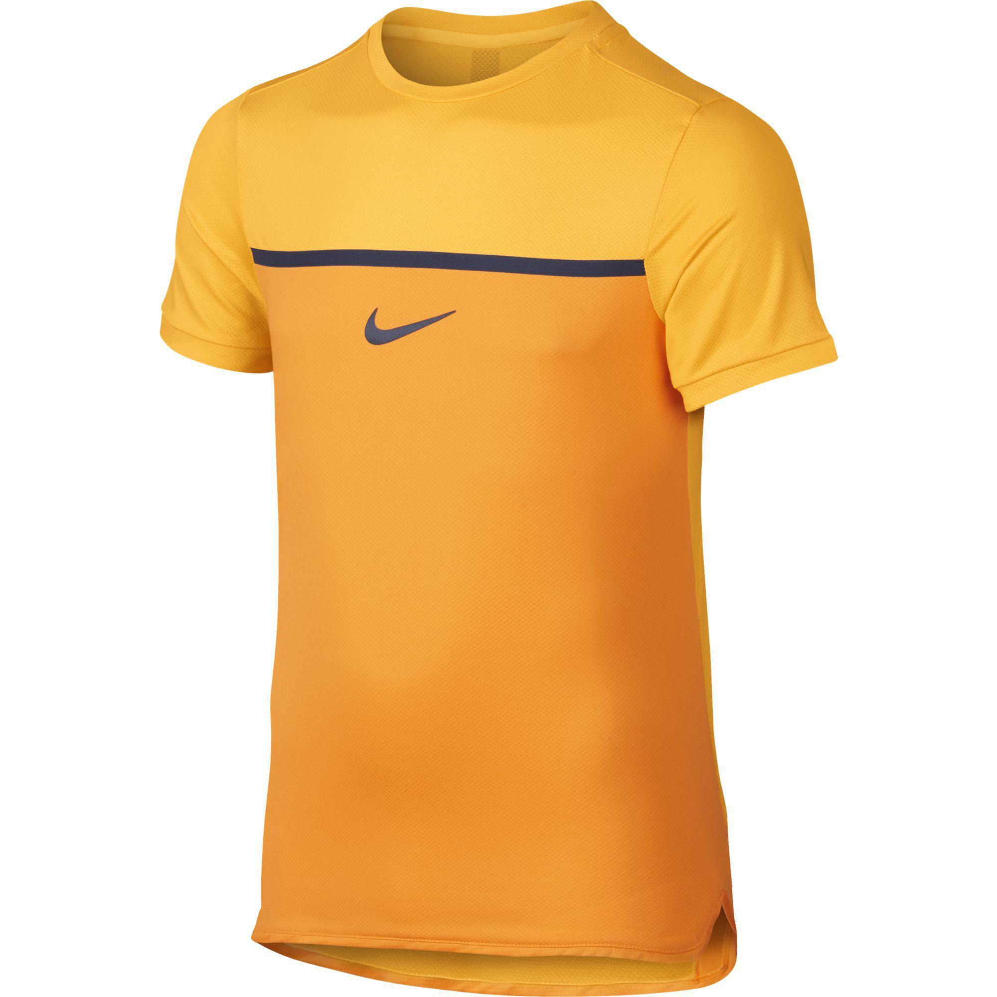 77b1da8dcfaf Nike Boys Challenger Premier Rafa Crew - Orange - Tennisnuts.com