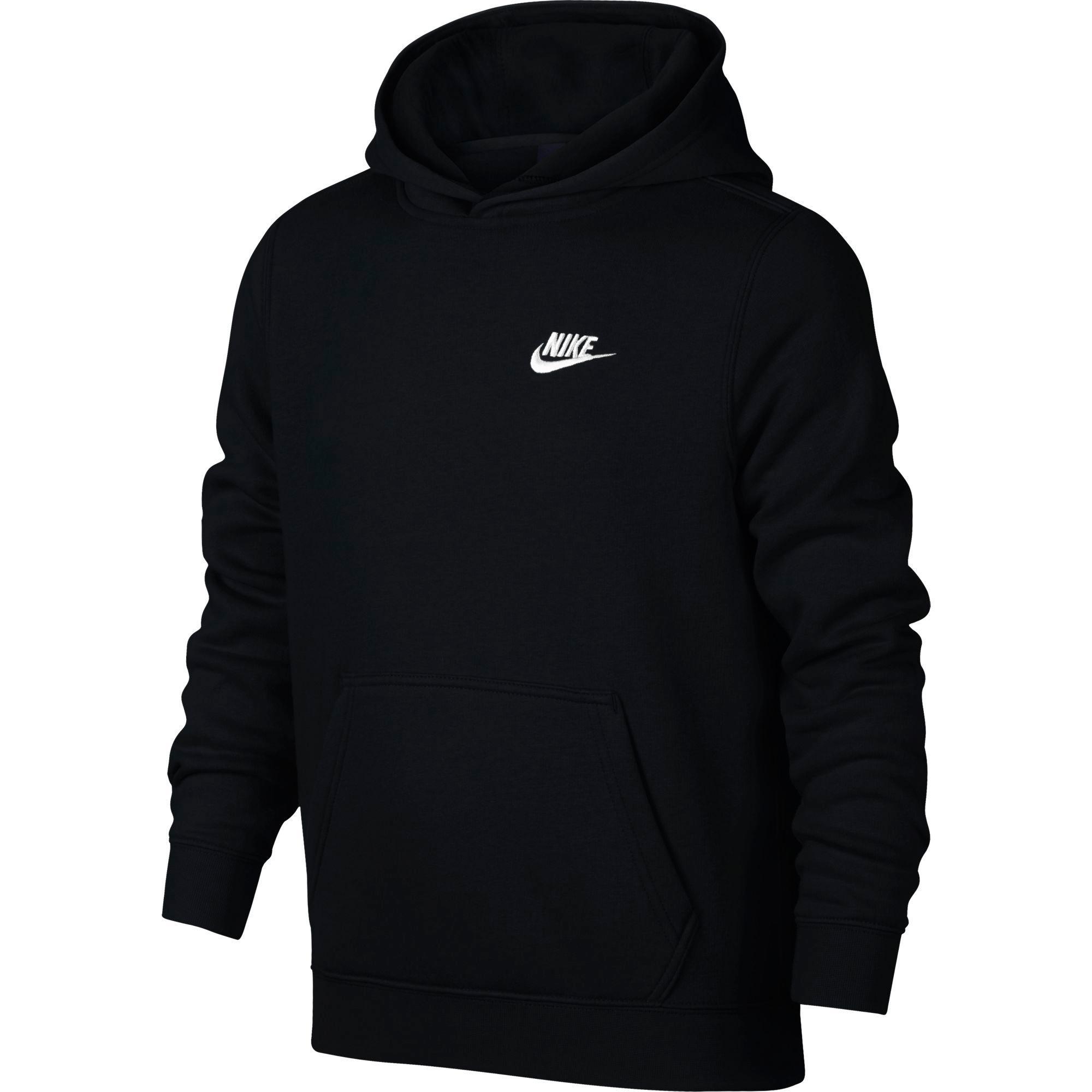 Nike Boys Sportswear Hoodie - Black - Tennisnuts.com