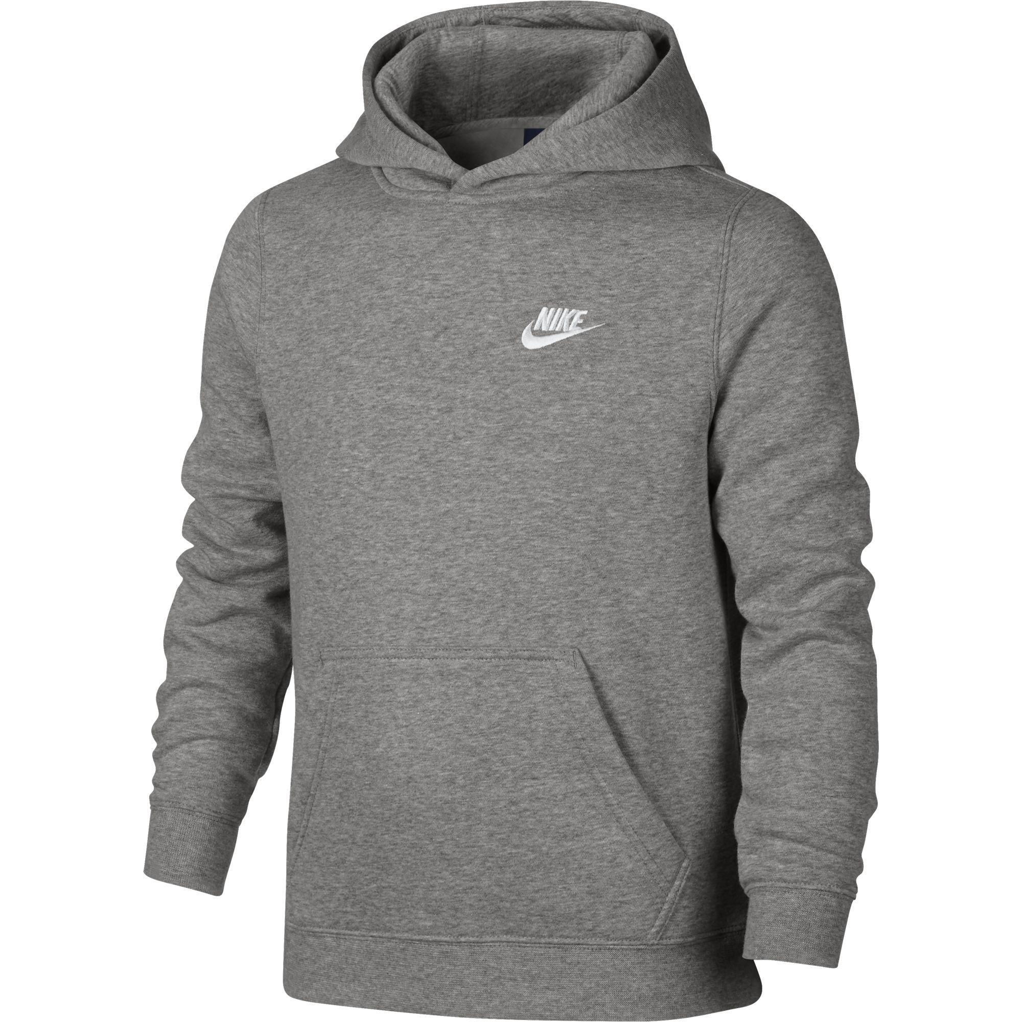 Nike Boys Sportswear Hoodie - Dark Grey - Tennisnuts.com