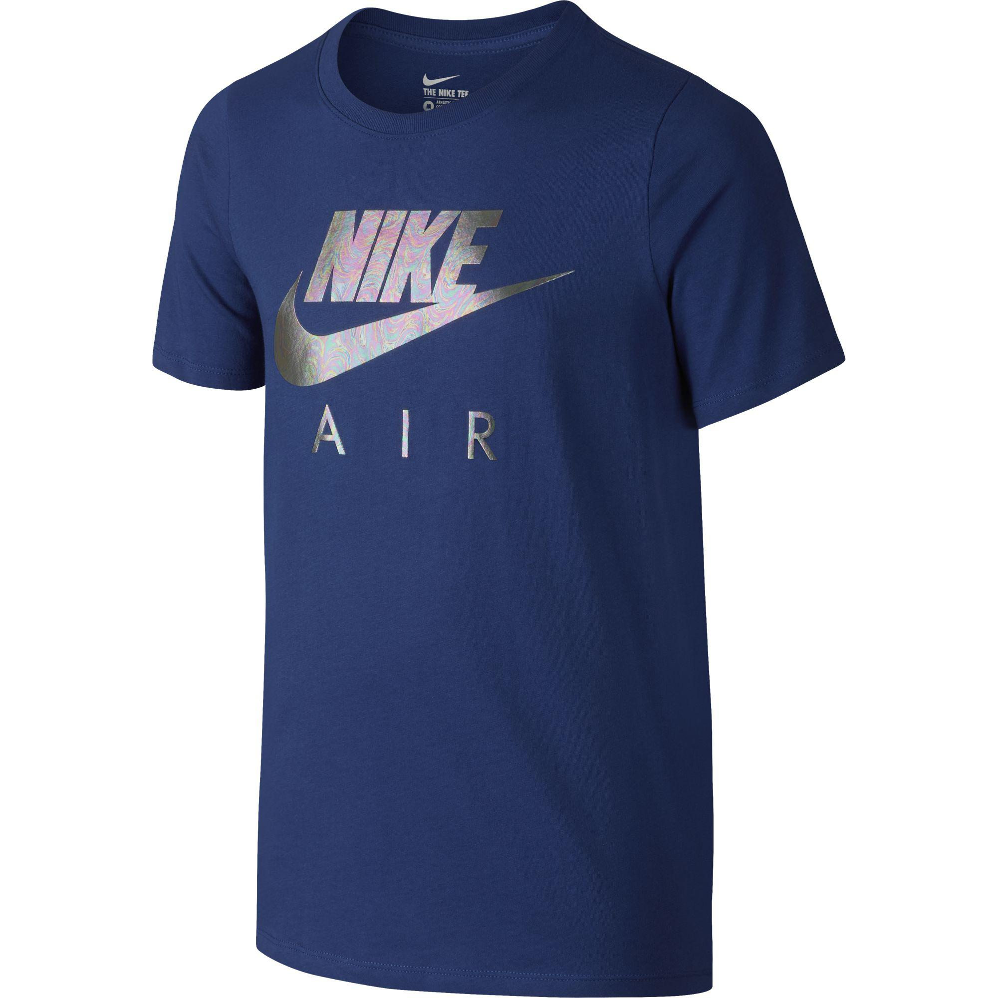 181e2c5c3417 Nike Boys Air Short Sleeve Tee - Deep Royal Blue - Tennisnuts.com