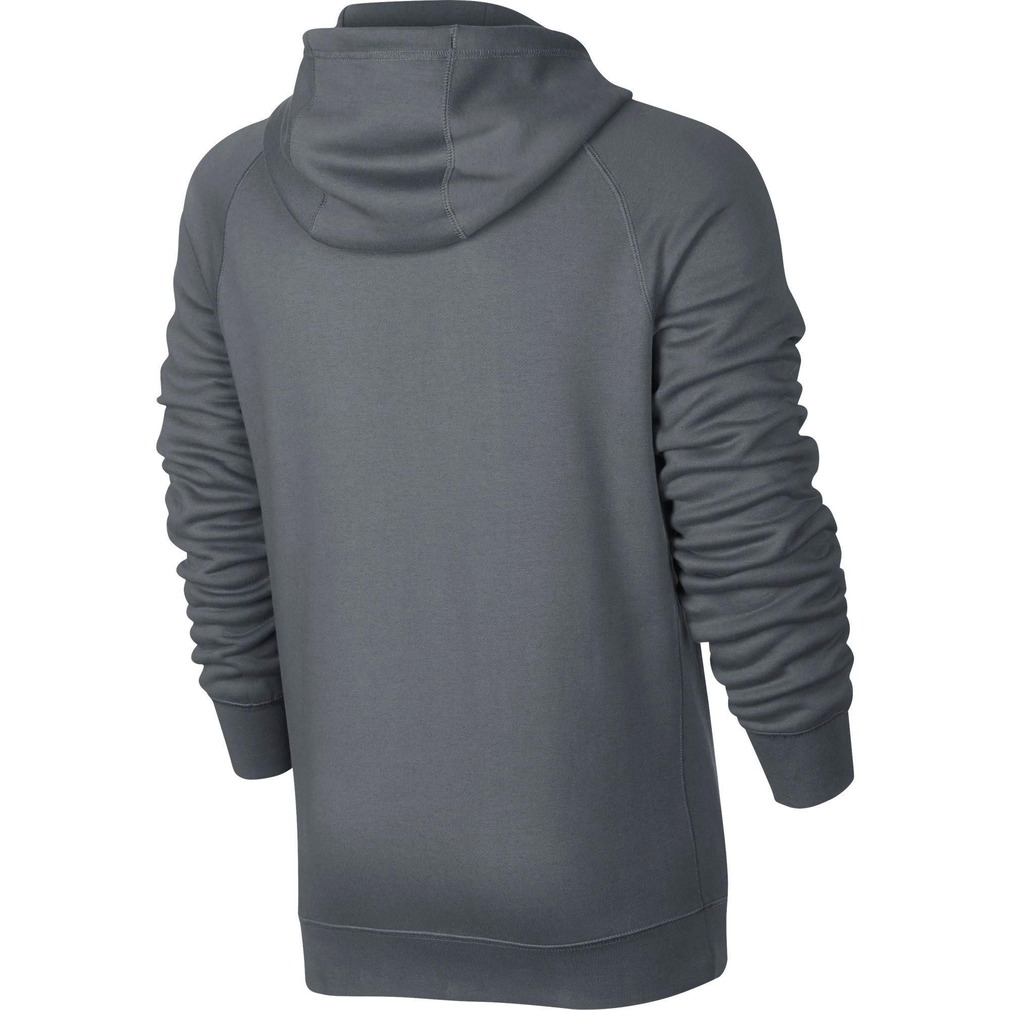 Nike Mens Sportswear Hoodie - Cool Grey - Tennisnuts.com