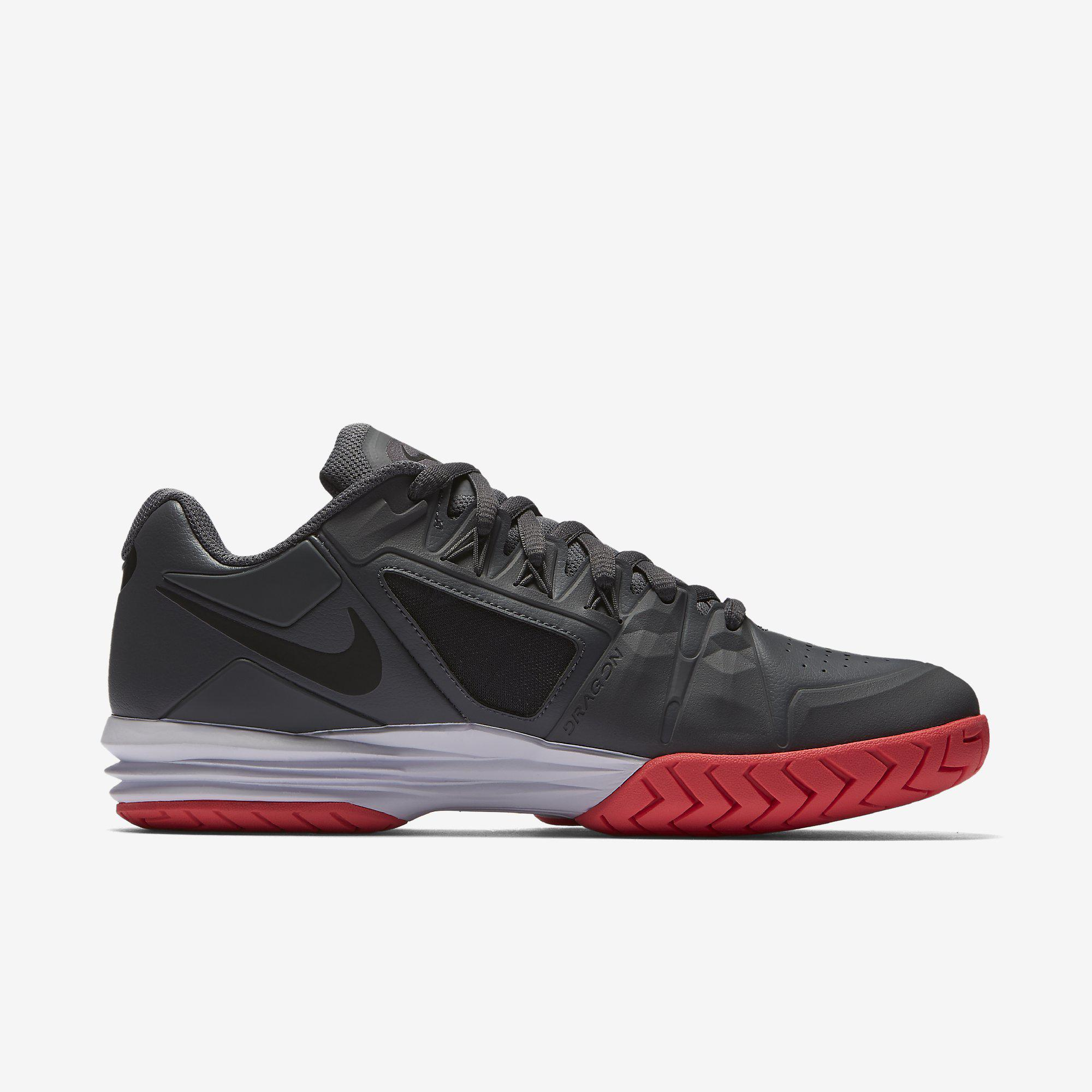 best loved dddf0 9397c ... clearance nike mens lunar ballistec 1.5 legend rafa tennis shoes dark  grey 8b589 c9992