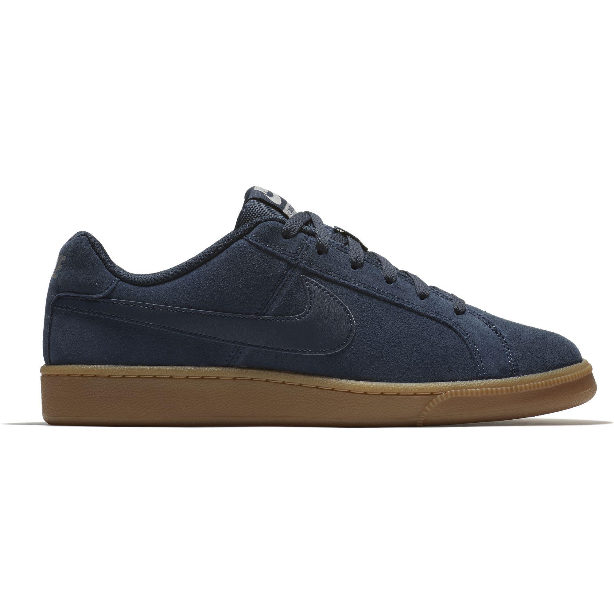tarde láser progresivo  Nike Boys Court Royale Suede Tennis Shoes - Navy - Tennisnuts.com