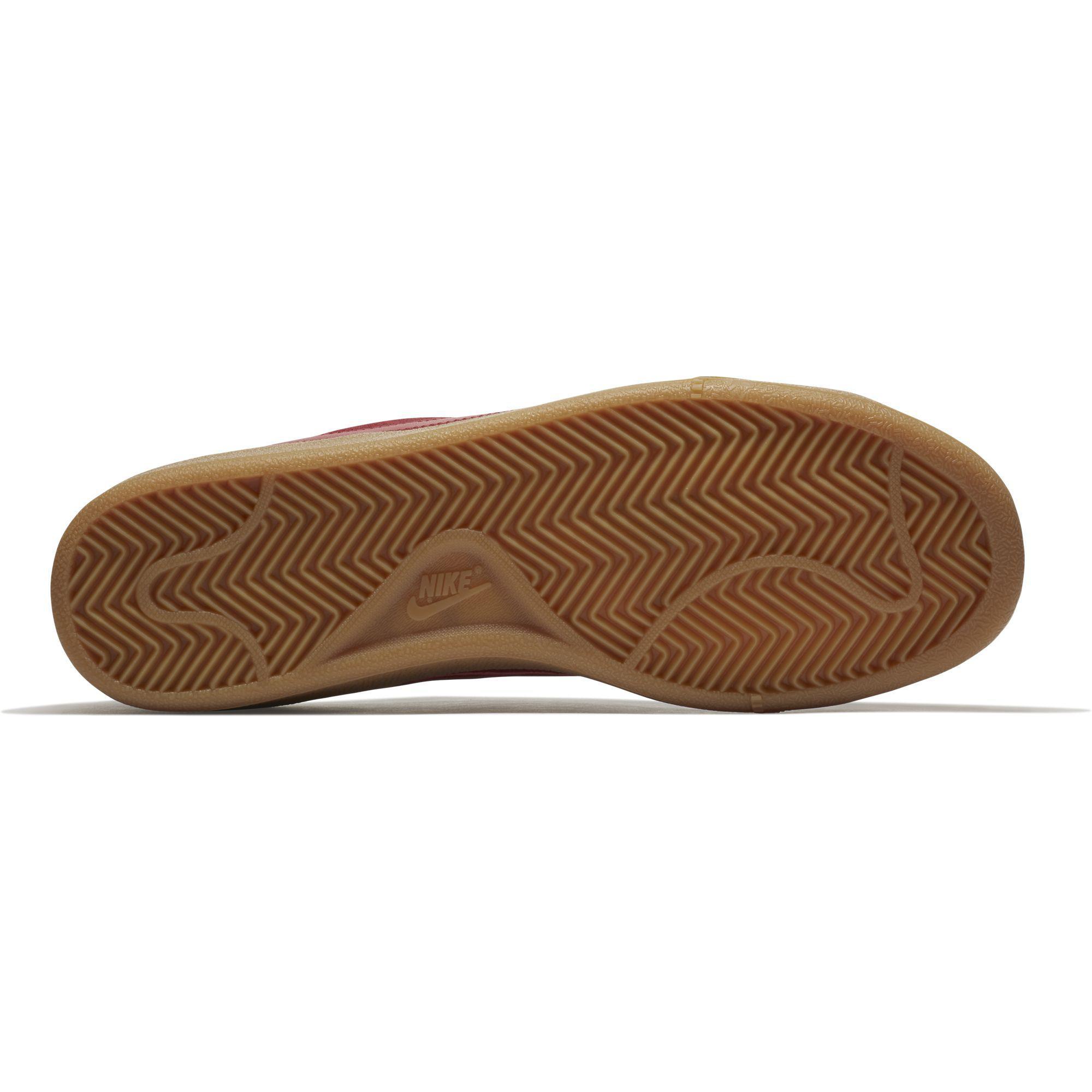 84d6df51eb0d4a Nike Mens Court Royale Suede Tennis Shoes - Red - Tennisnuts.com