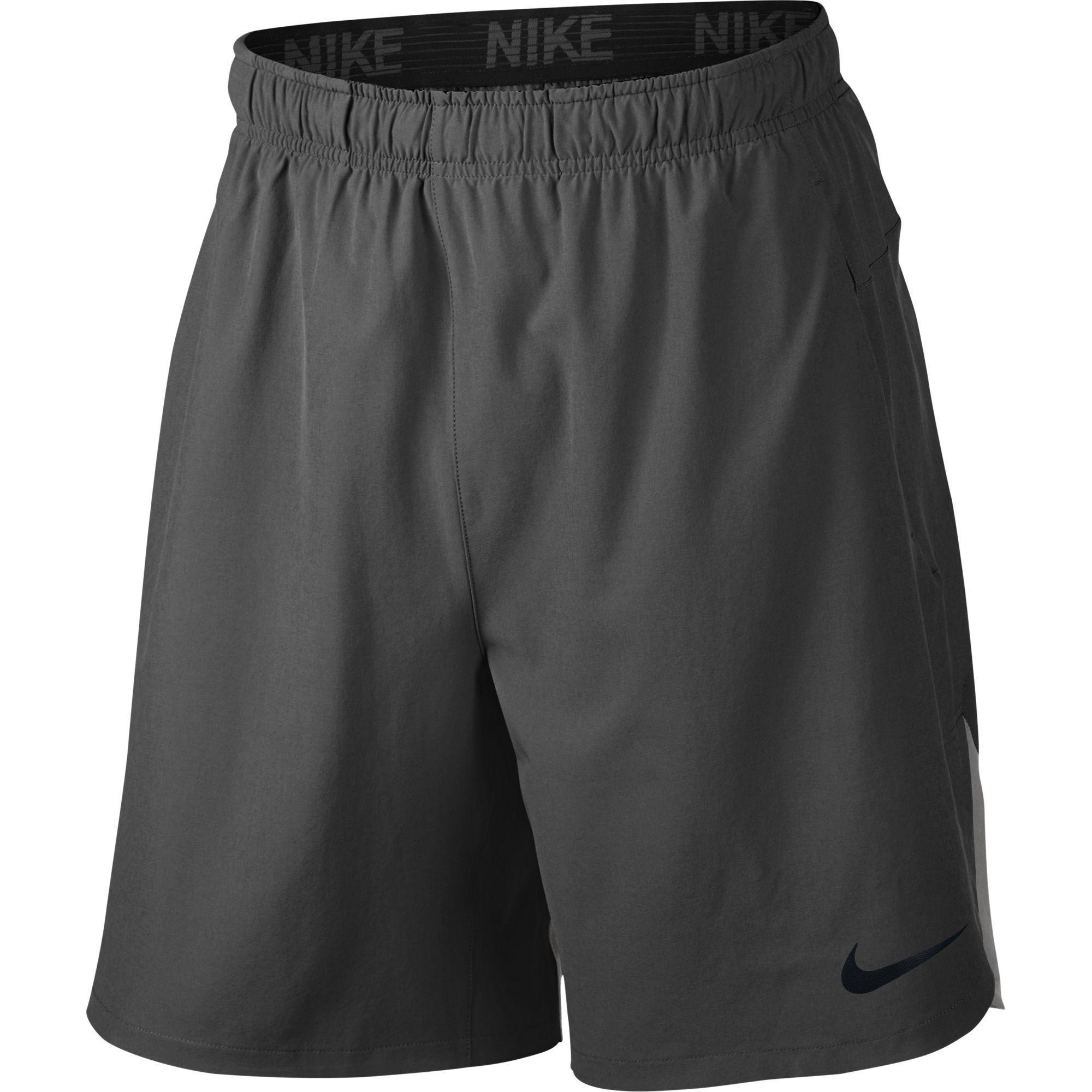 783039fcac5 Nike Mens Flex Training Short - Mightnight Fog Dust Black - Tennisnuts.com