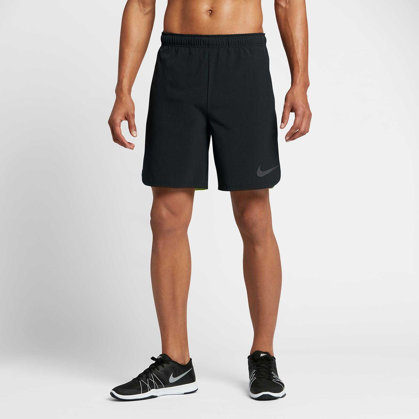35297b2a294 Nike Mens Flex Training Shorts - Black Dust - Tennisnuts.com