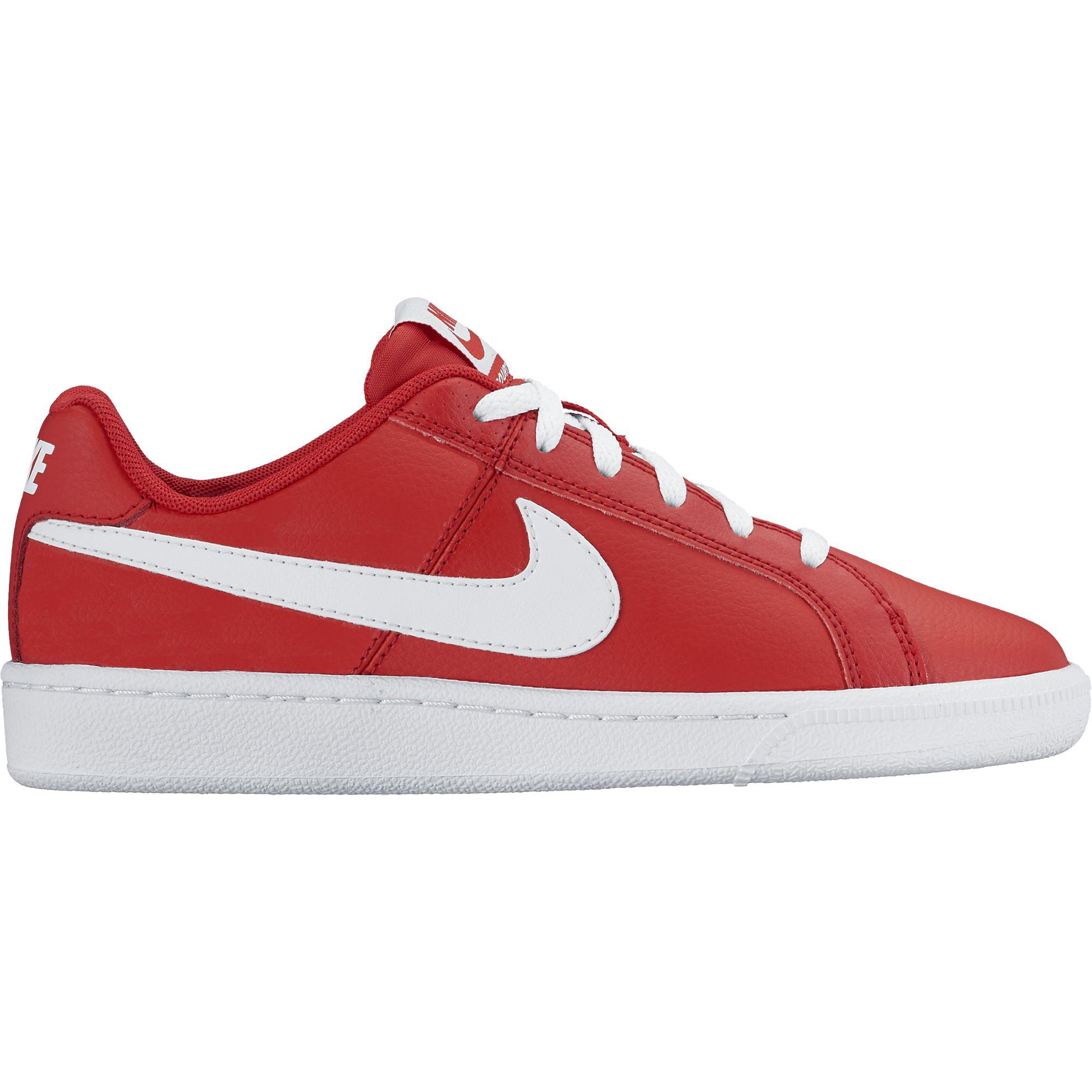 best loved 52fe0 a3aaa Nike Boys Court Royale Tennis Shoes - University RedWhite - Tennisnuts.com