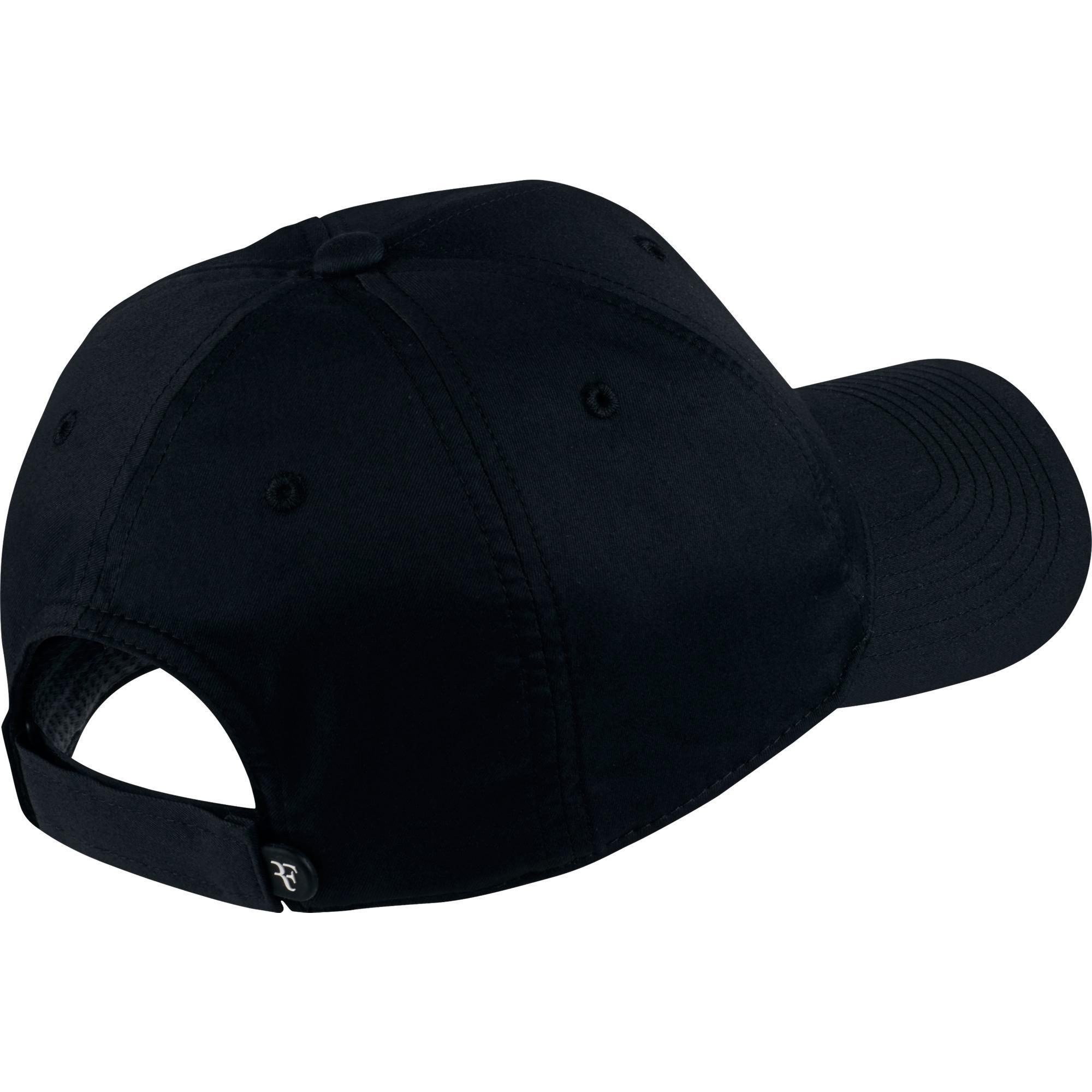 082b92c5585 Nike RF Iridescent Cap - Black Flint Grey - Tennisnuts.com