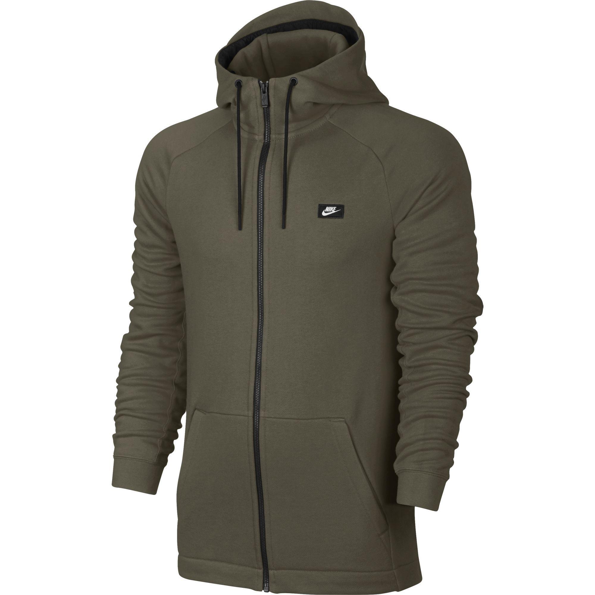 86d85b603a06 Nike Mens Sportswear Modern Hoodie - Medium Olive - Tennisnuts.com