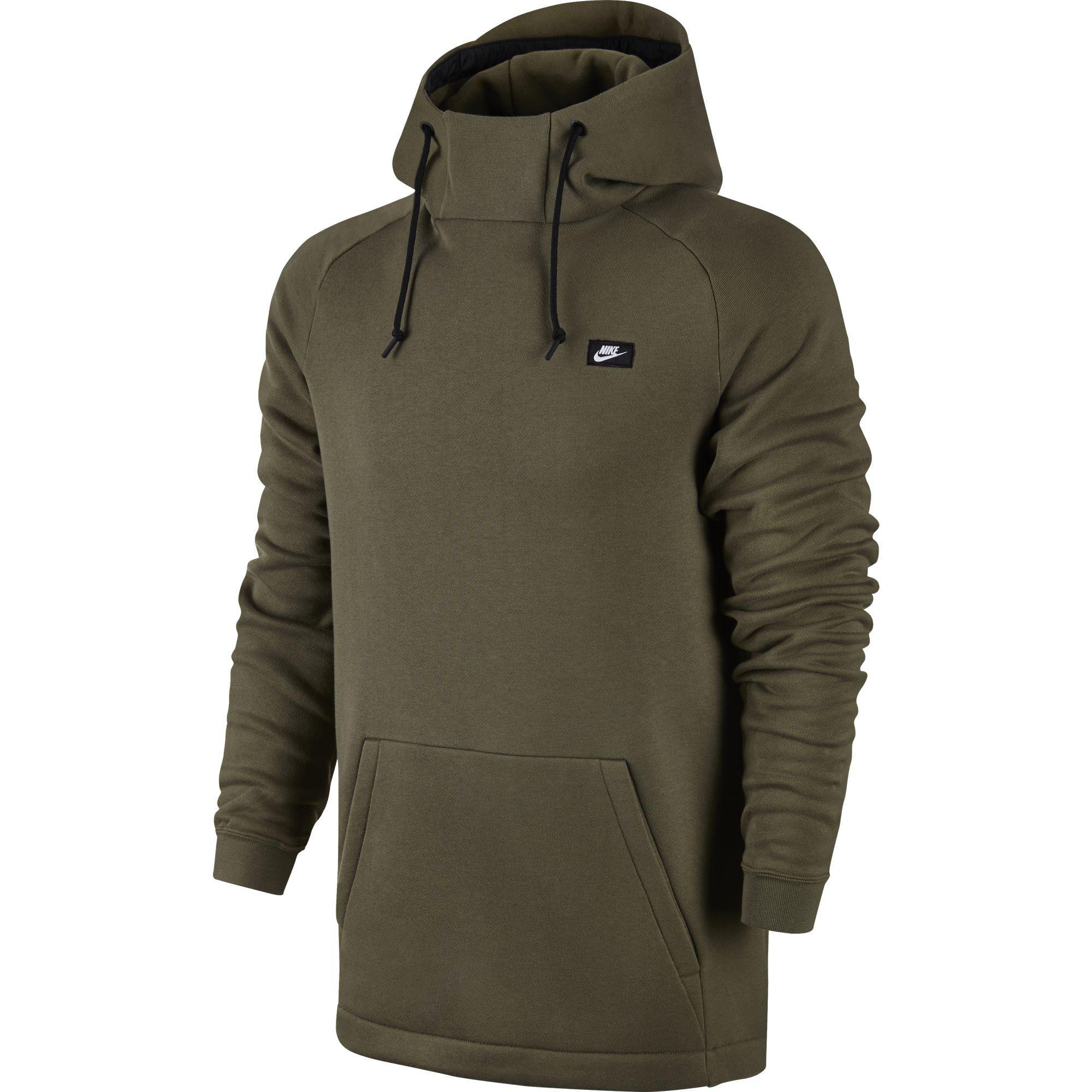 6b3df608152a Nike Mens Modern Pullover Hoodie - Medium Olive - Tennisnuts.com