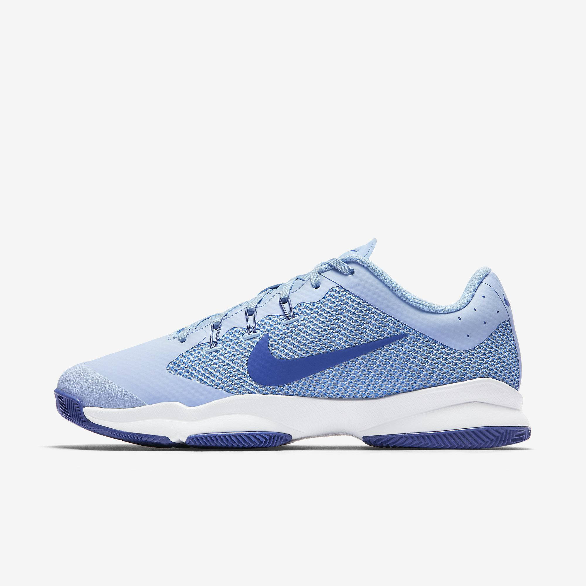 e7b6c9c5e120 Nike Womens Air Zoom Ultra Tennis Shoes - Ice Blue - Tennisnuts.com