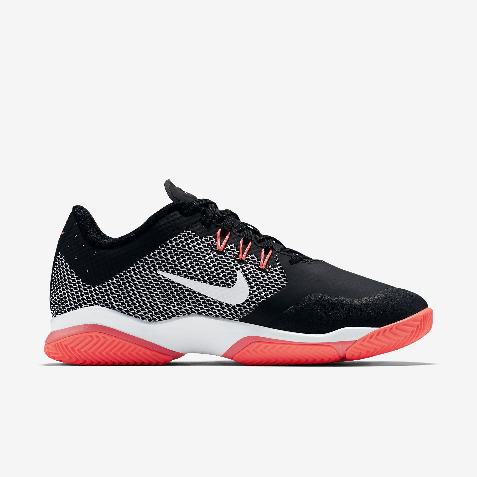 nike womens air zoom ultra clay court tennis shoes black. Black Bedroom Furniture Sets. Home Design Ideas