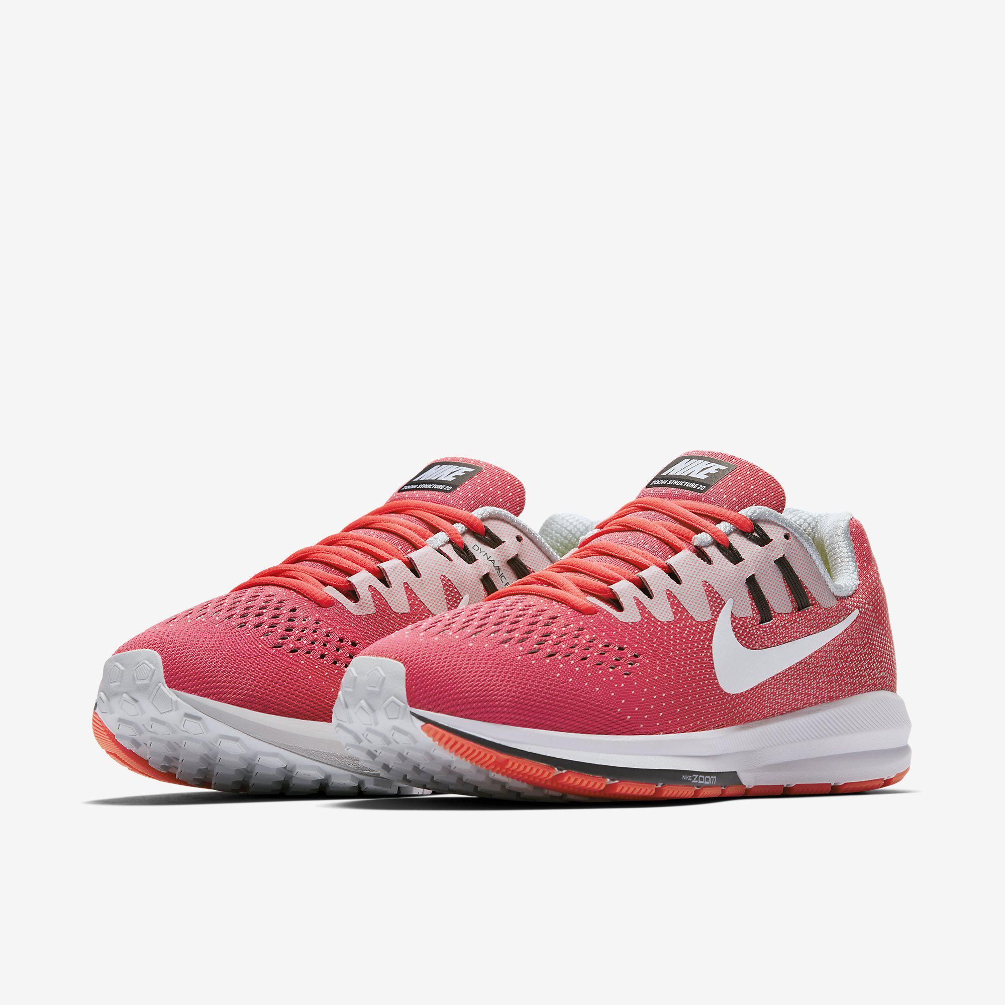 Out Of Stock. Nike Womens Air Zoom Structure 20 Running Shoe - Racer Pink ·  Nike ...
