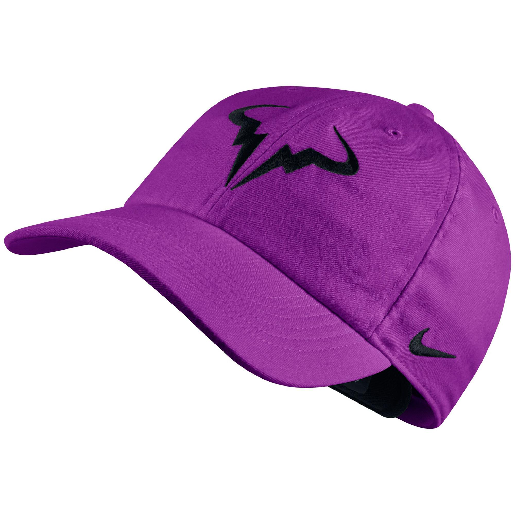 66dc1ad0 Nike Rafa AeroBill H86 Adjustable Cap - Vivid Purple - Tennisnuts.com