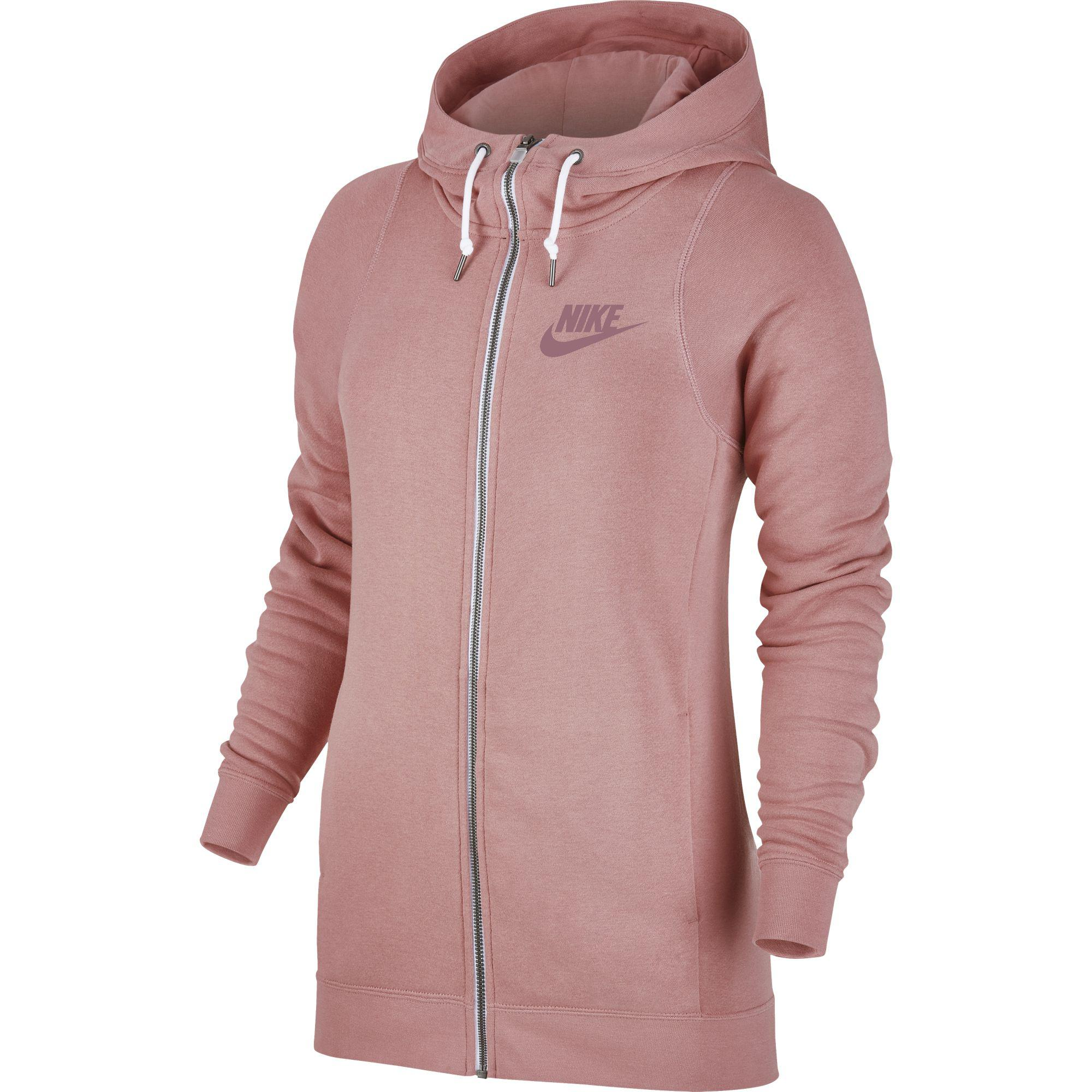 nike women sportswear modern hoodie neutral red. Black Bedroom Furniture Sets. Home Design Ideas