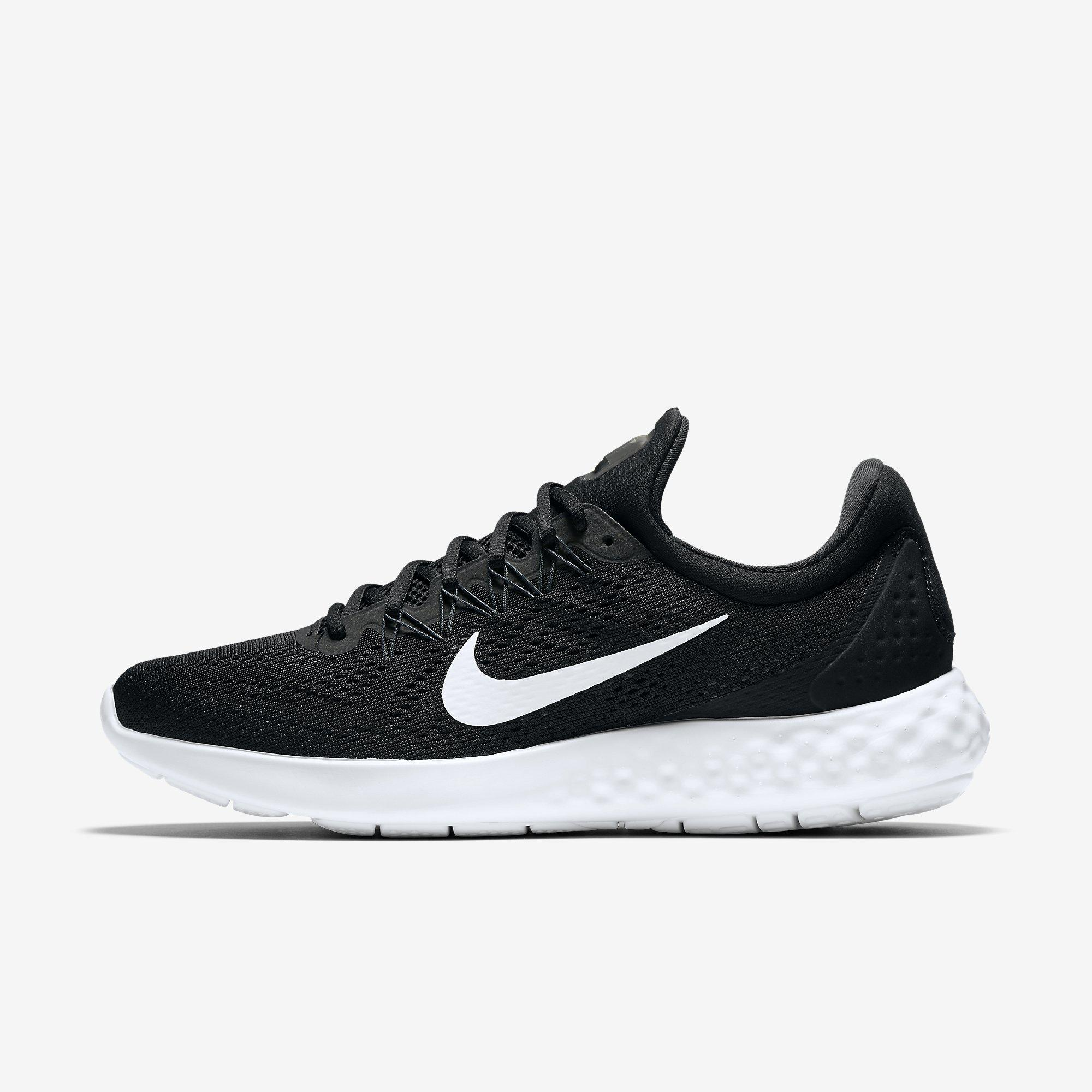 ef90451ab4b Nike Mens Lunar Skyelux Running Shoes - Black White - Tennisnuts.com