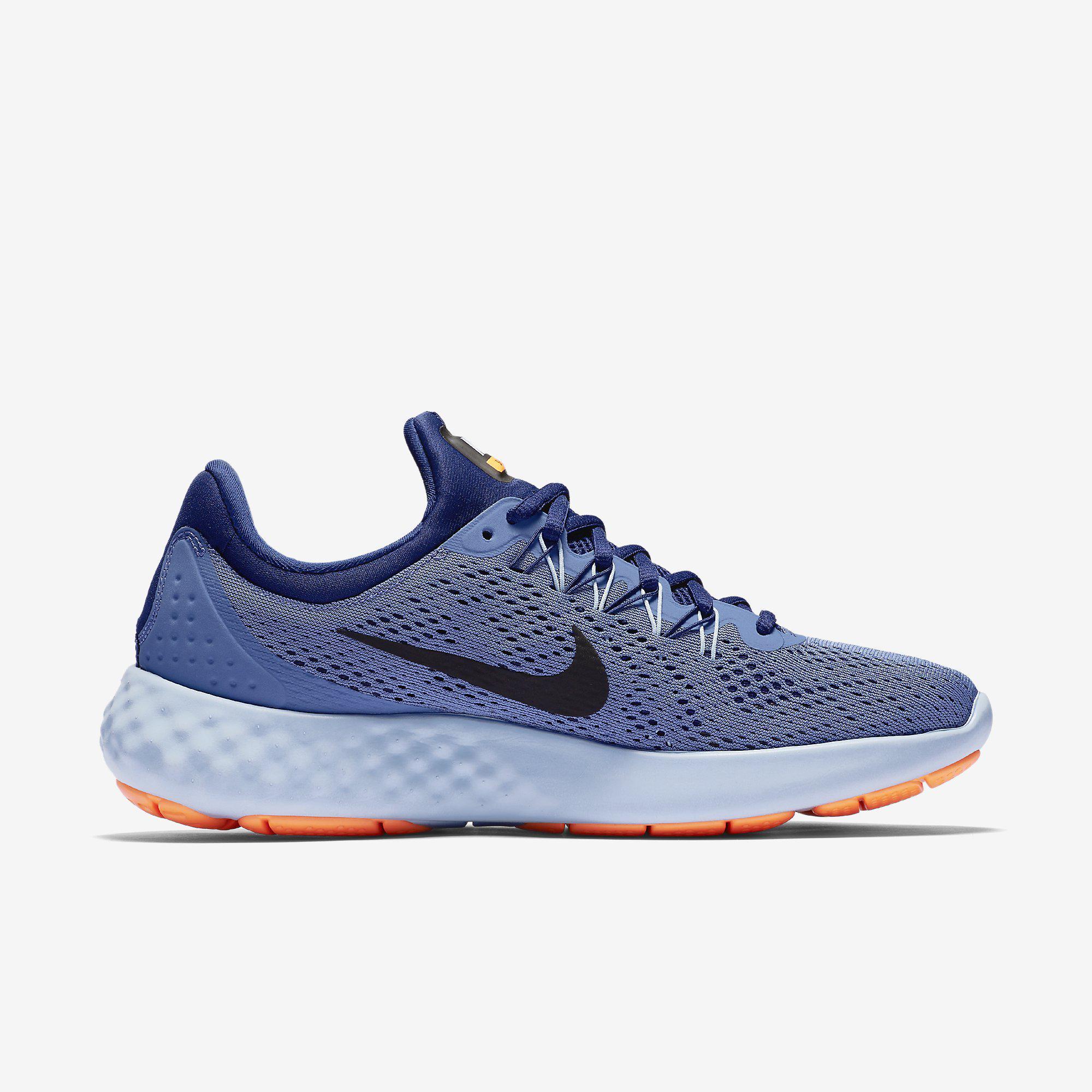 Nike Mens Lunar Skyelux Running Shoes - Blue Moon