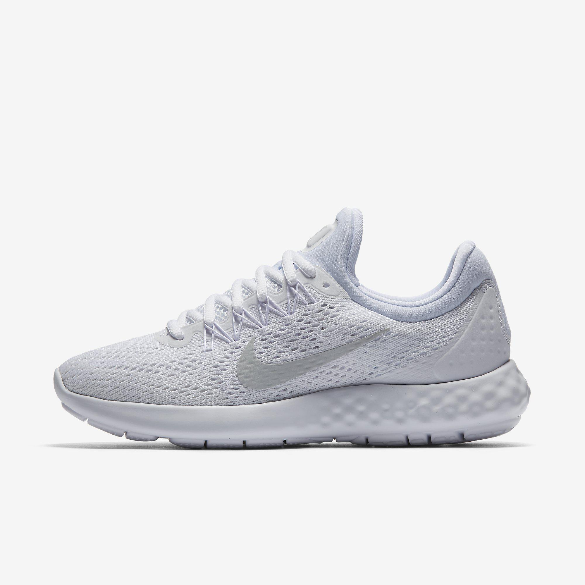 9841c2b42d65b Nike Womens Lunar Skyelux Running Shoes - White - Tennisnuts.com