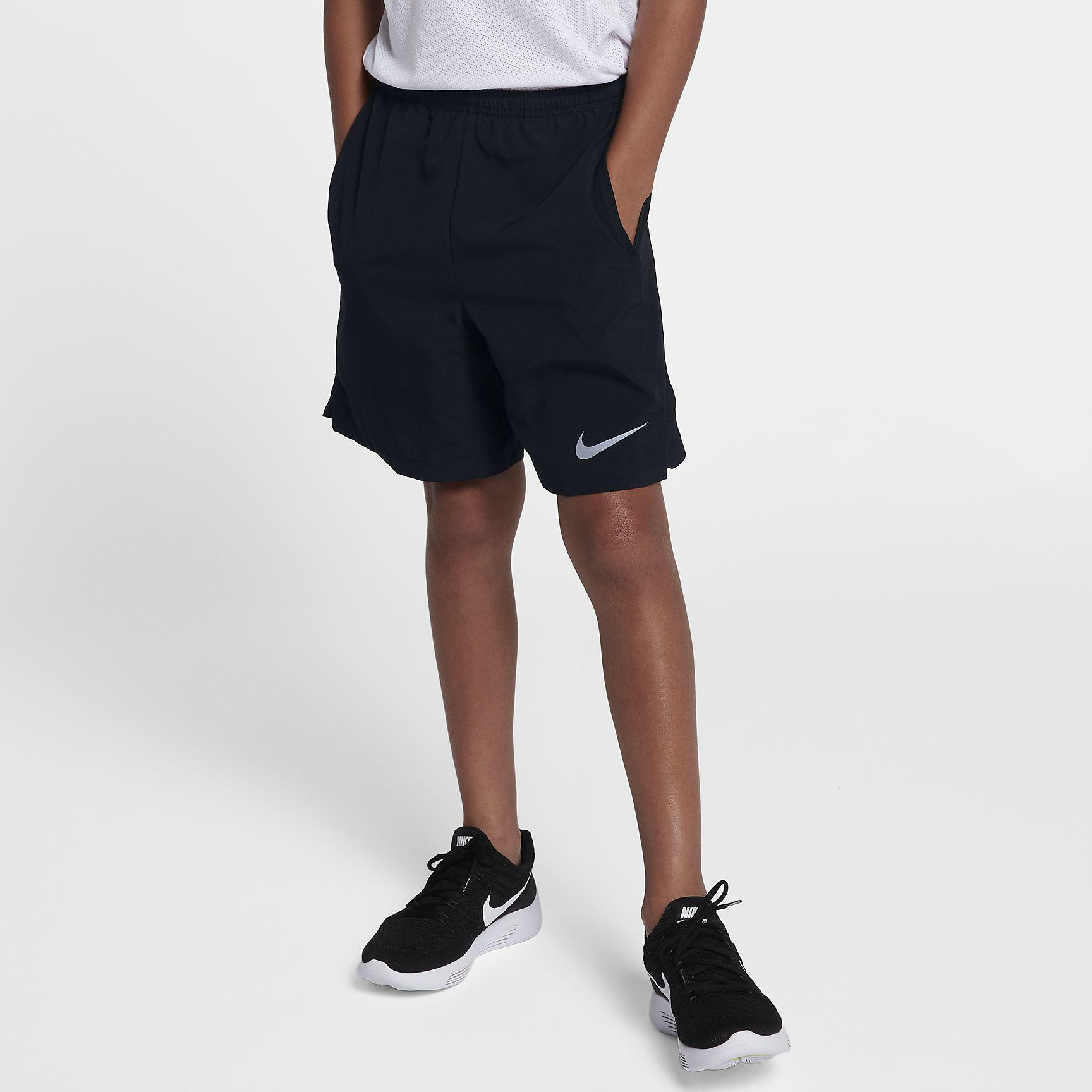 Nike Boys Flex Shorts - Black - Tennisnuts.com