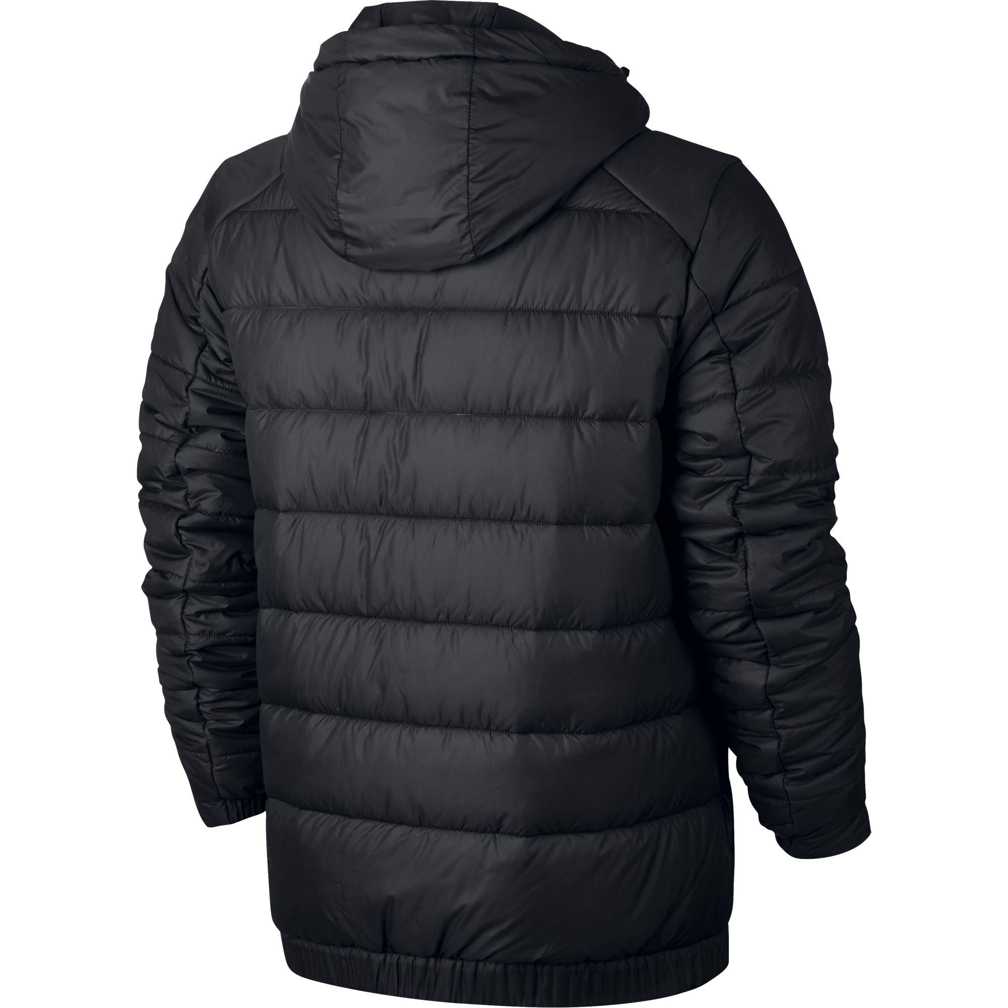 Nike Mens Sportswear Jacket Black White Tennisnuts Com