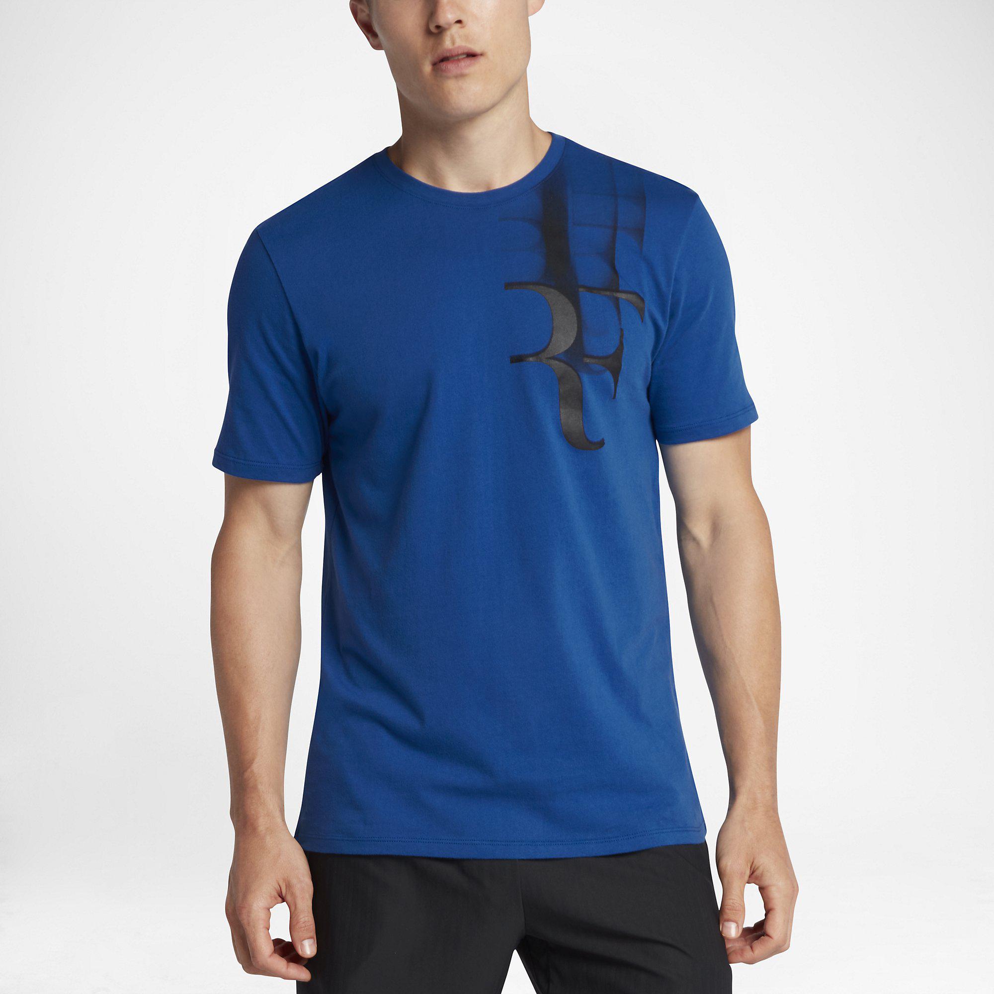 725ac974faf Nike Mens Court Roger Federer Tee - Blue Jay - Tennisnuts.com