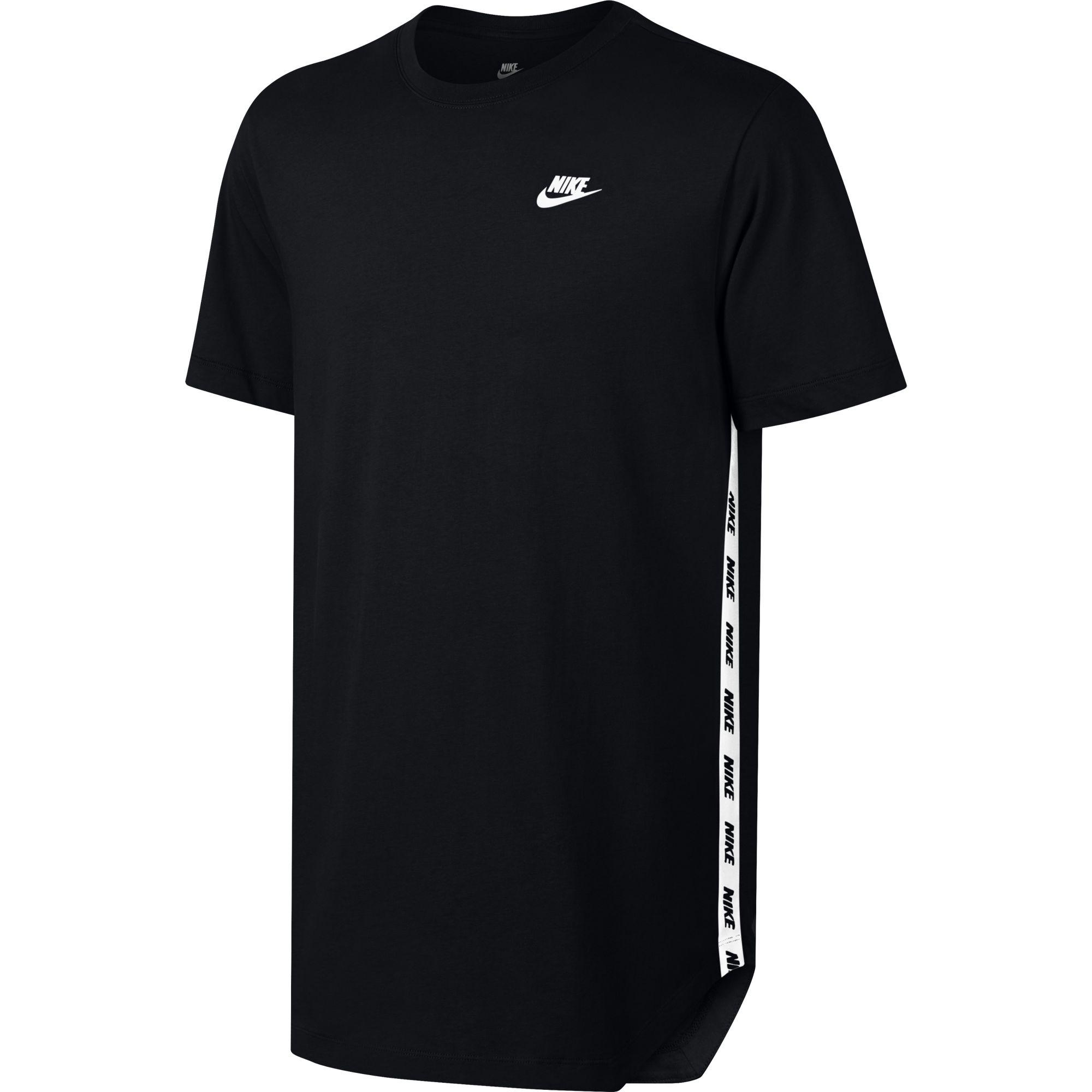 nike mens sportwear t shirt black. Black Bedroom Furniture Sets. Home Design Ideas