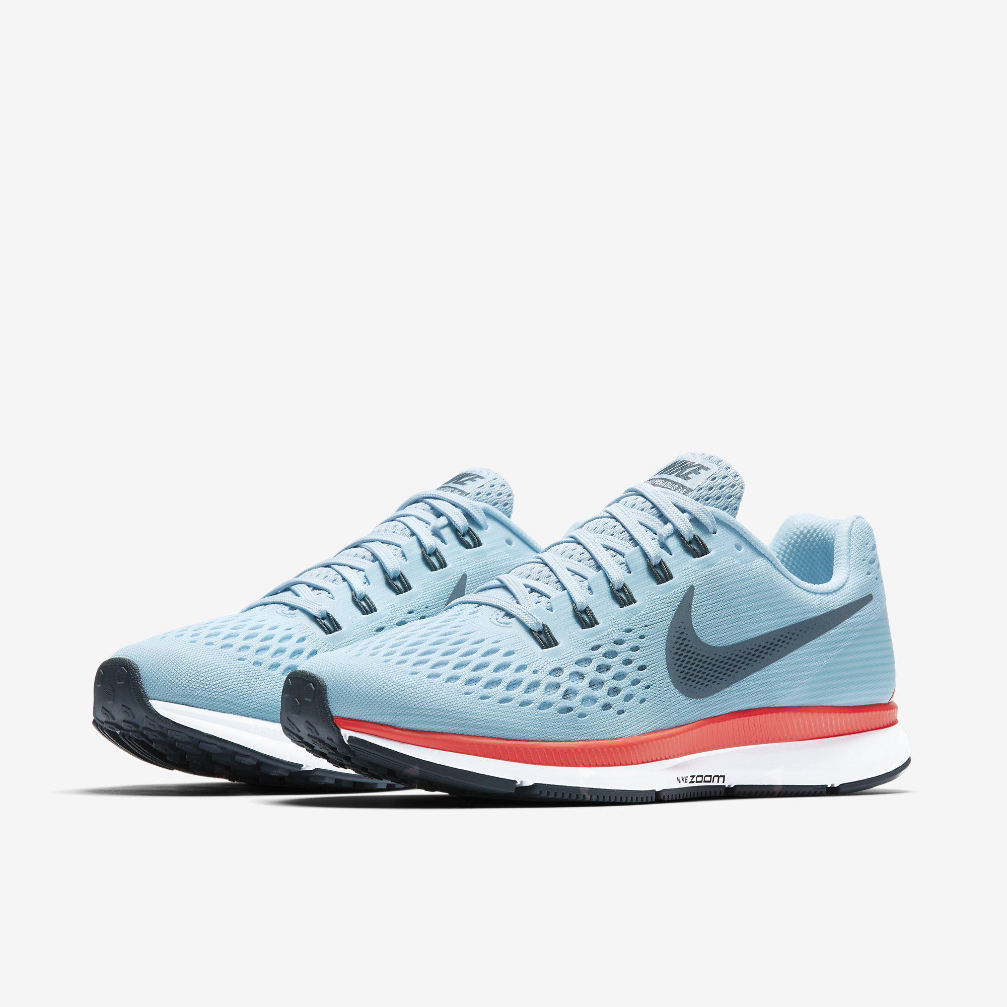 big sale 2b6fb efc7c Nike Womens Air Zoom Pegasus 34 Running Shoes - Ice Blue - Tennisnuts.com