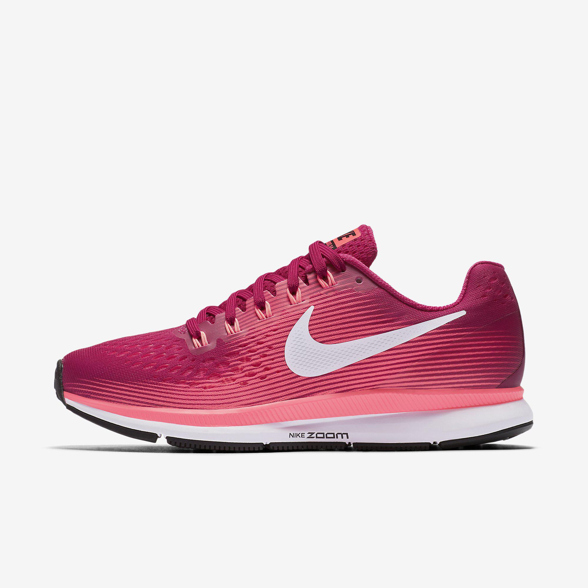 save off 68b63 cce92 Nike Womens Air Zoom Pegasus 34 Running Shoes - Sport Fuchsia -  Tennisnuts.com